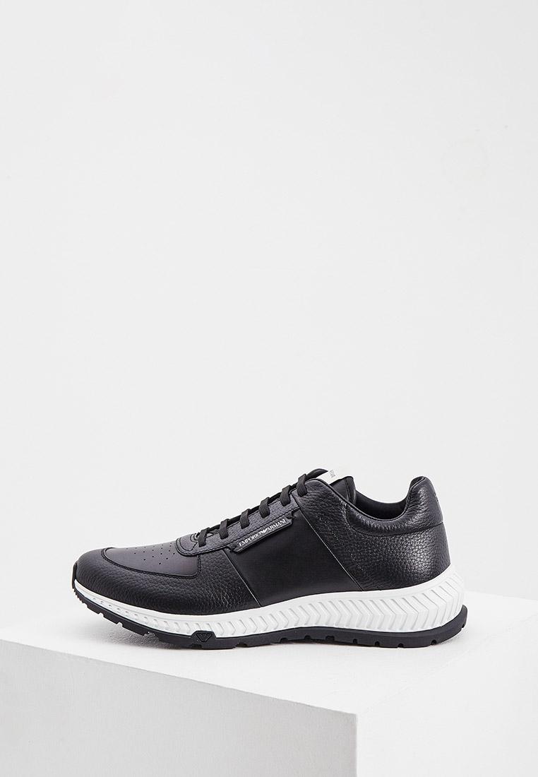 Мужские кроссовки Emporio Armani (Эмпорио Армани) X4X534XM683