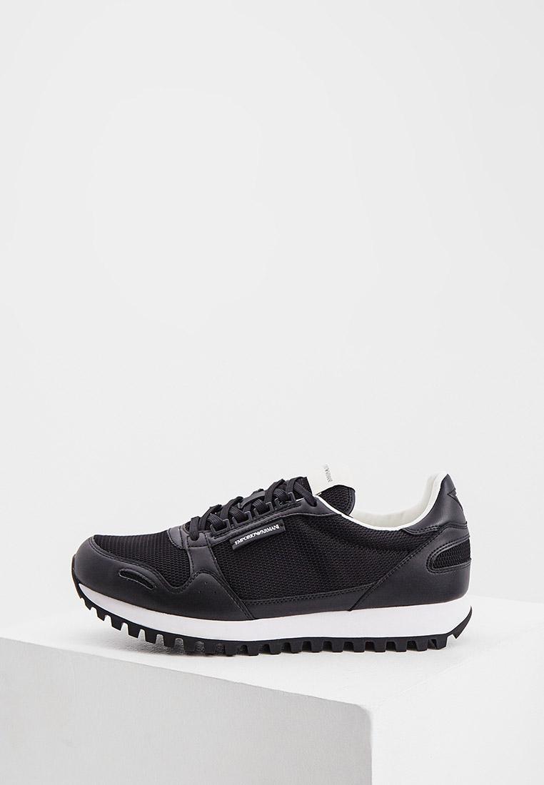 Мужские кроссовки Emporio Armani (Эмпорио Армани) X4X536XM745