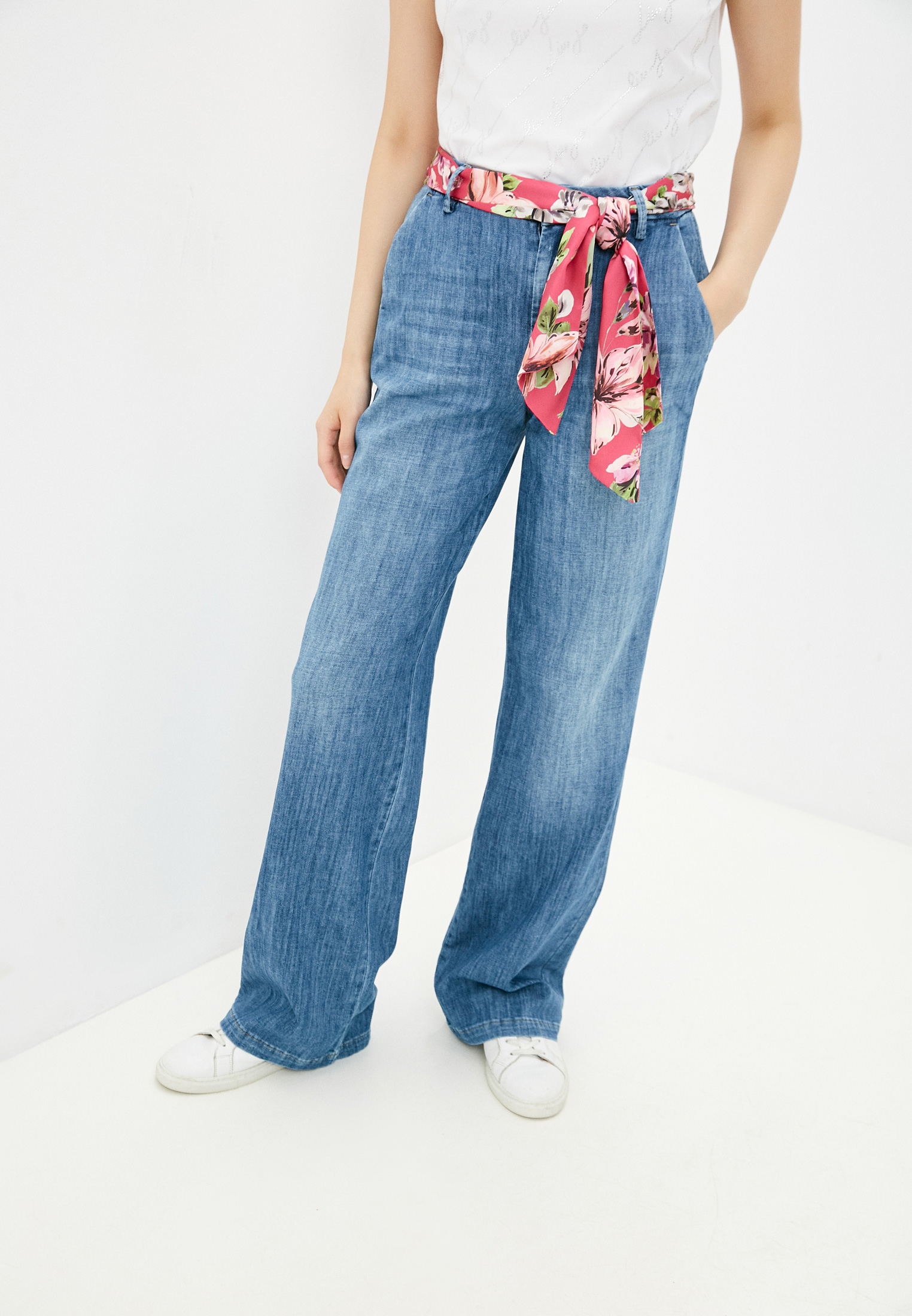 Широкие и расклешенные джинсы Liu Jo (Лиу Джо) UA1142 D4609