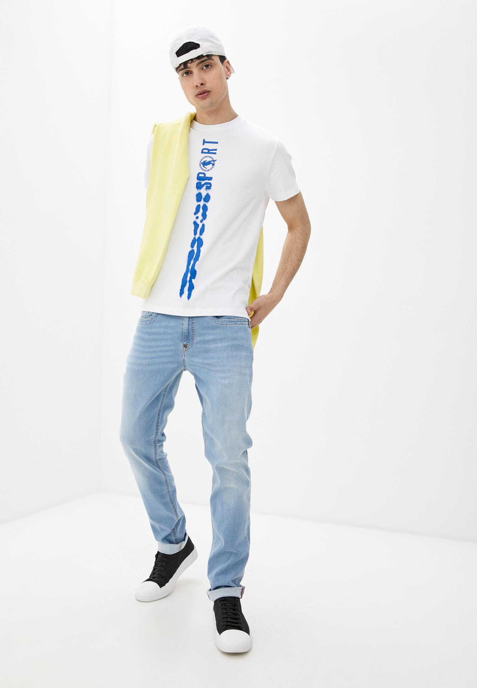 Мужская футболка Bikkembergs (Биккембергс) C 4 101 26 E 2231: изображение 3