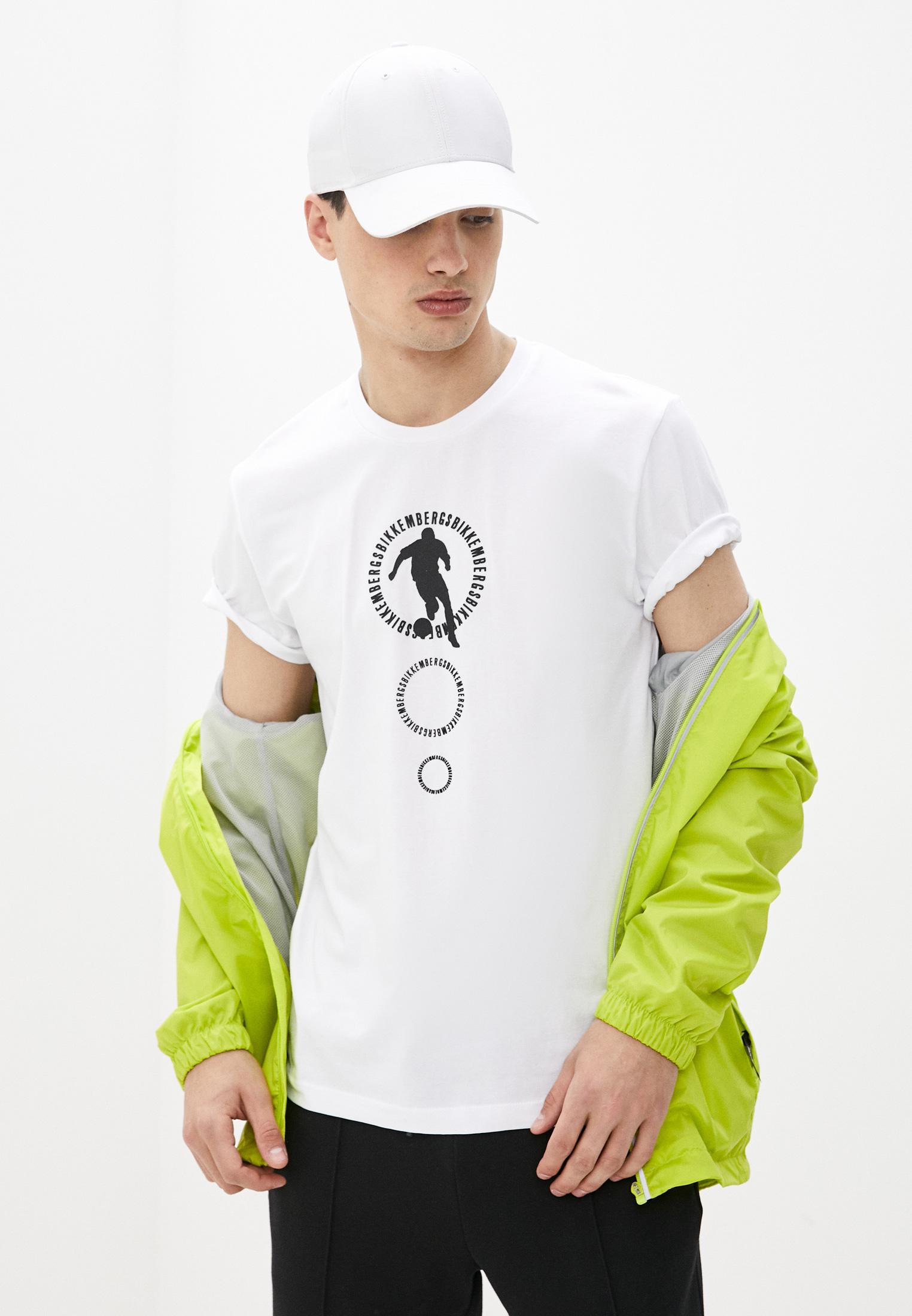 Мужская футболка Bikkembergs (Биккембергс) C 4 101 28 E 2231