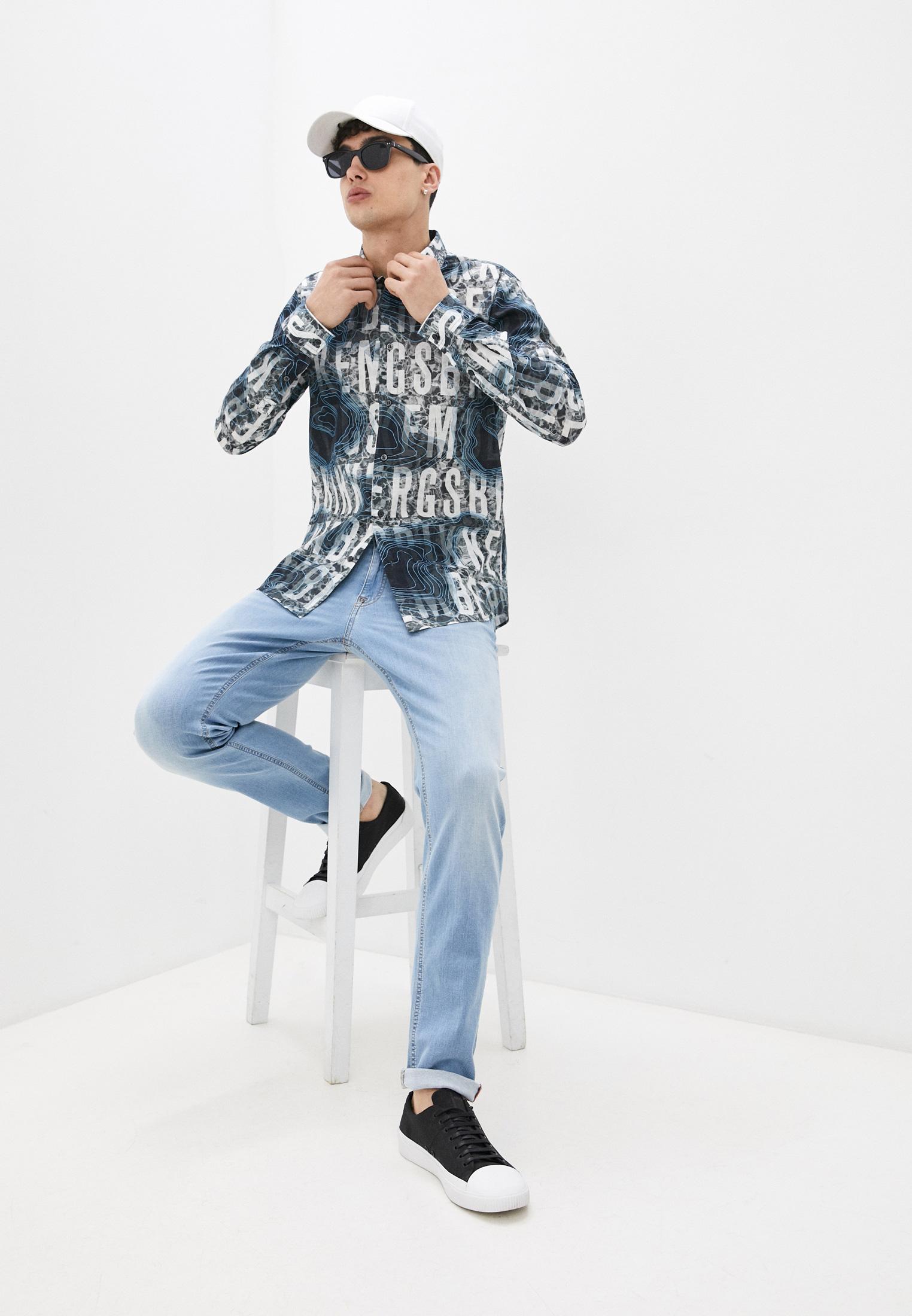 Мужские прямые джинсы Bikkembergs C Q 101 26 S 3541: изображение 3