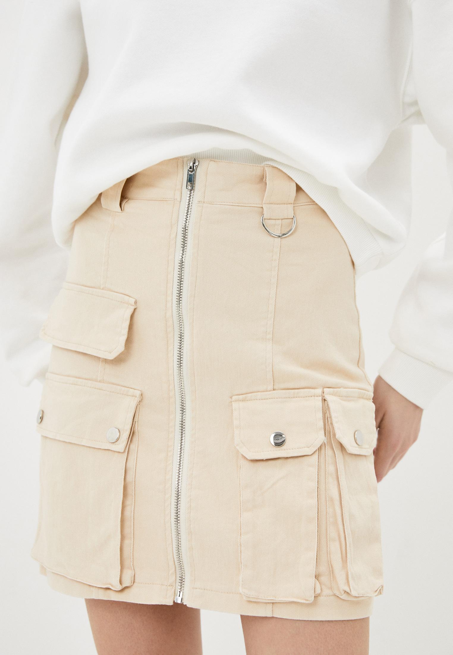 Джинсовая юбка Nerouge N453-23