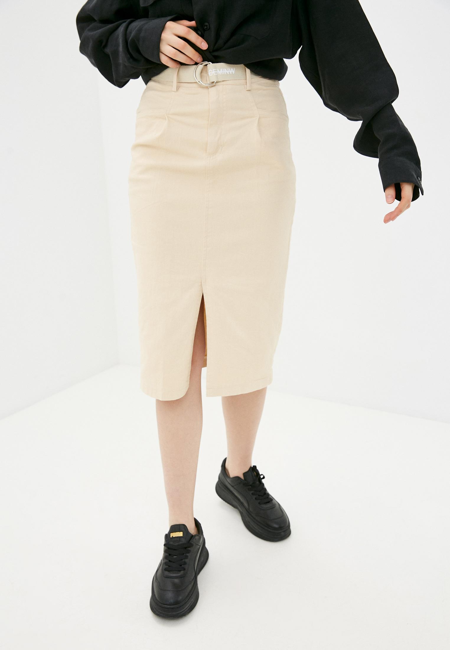 Джинсовая юбка Nerouge N515-12