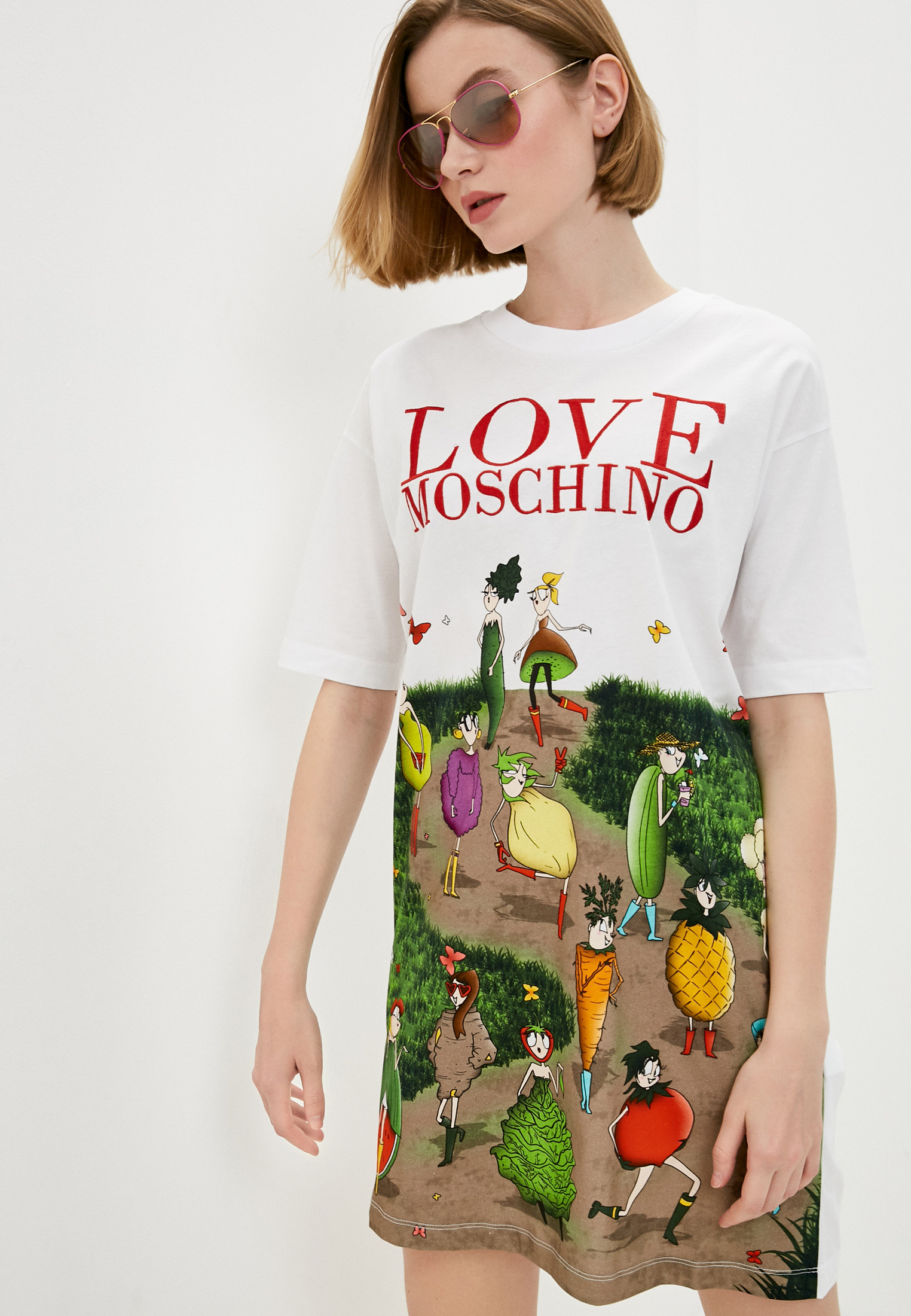 Платье Love Moschino W592313M3517A00