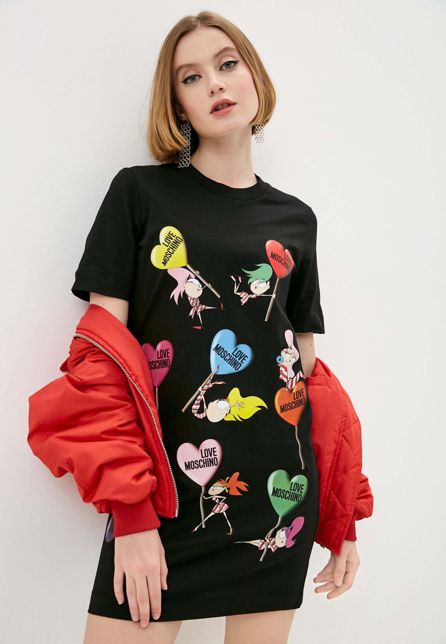 Платье Love Moschino W5A0215M3876C74