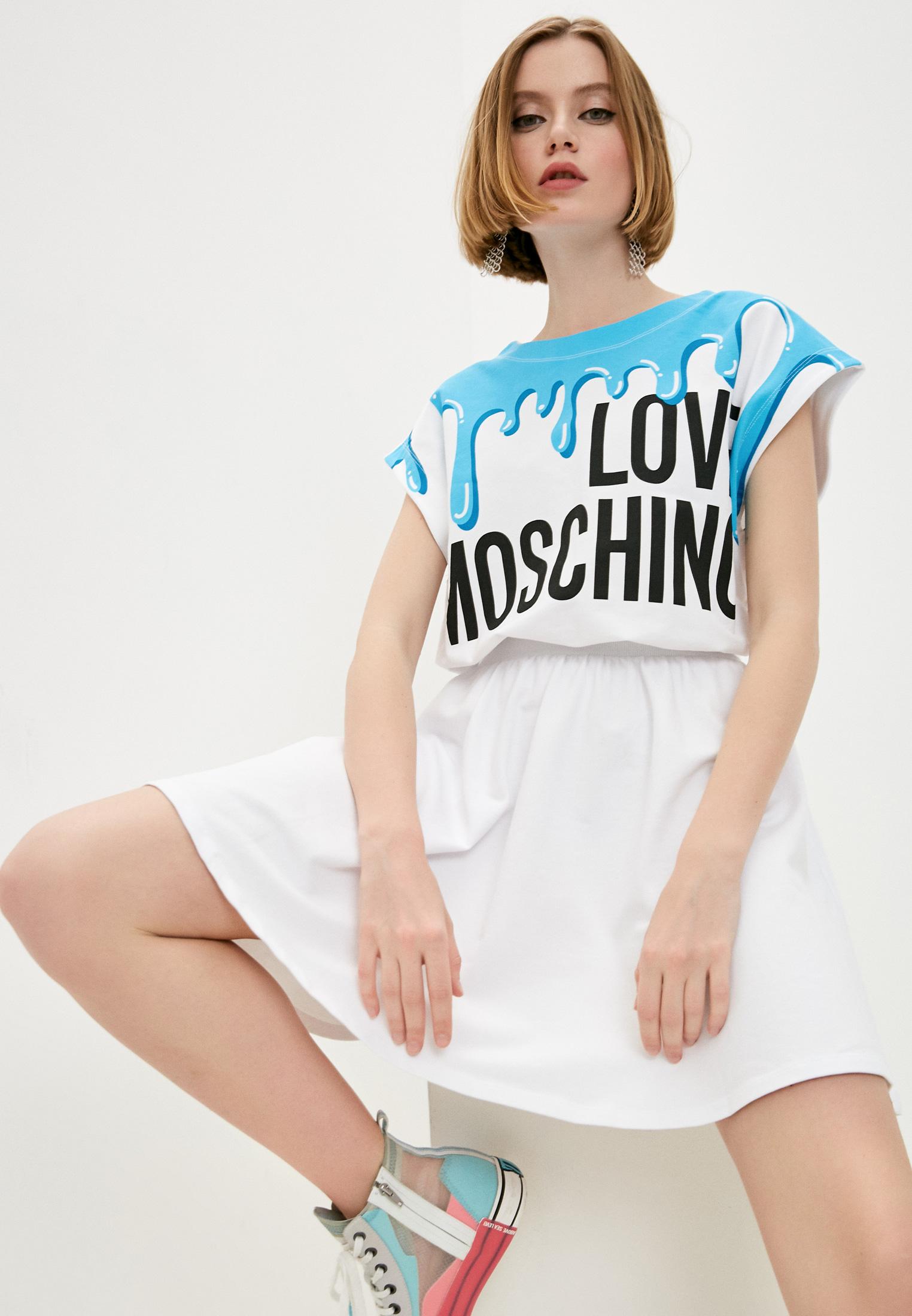 Платье Love Moschino W5B5701E21394055