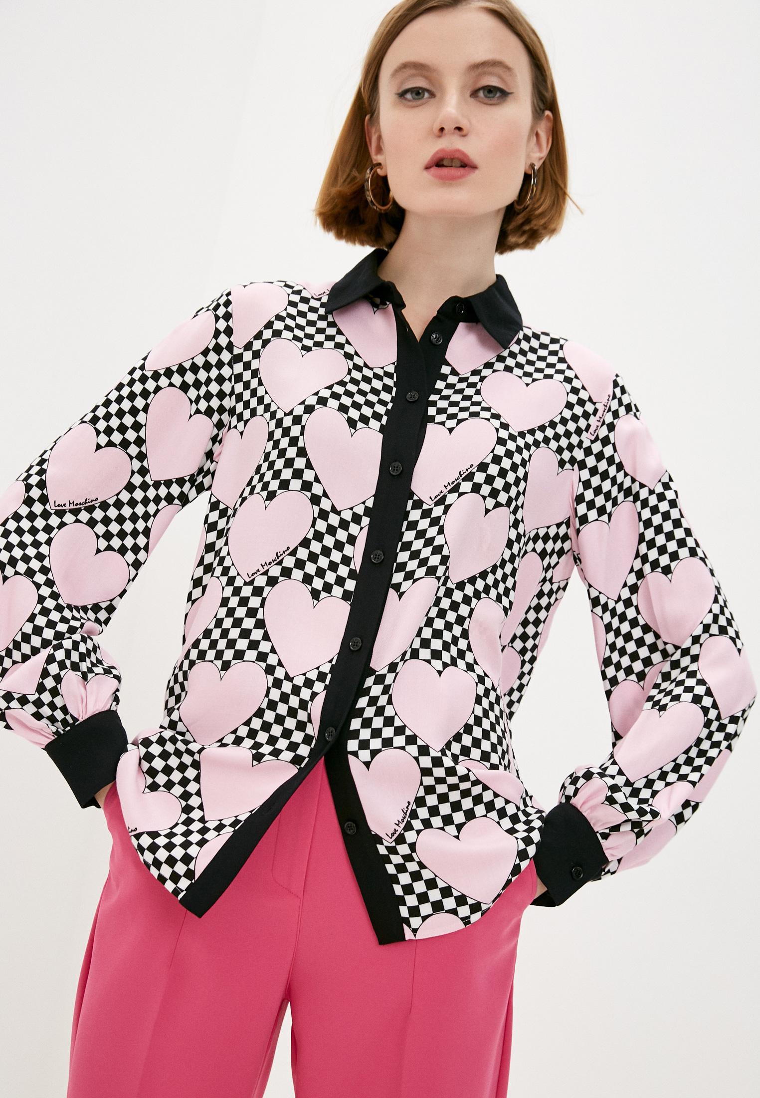 Рубашка Love Moschino (Лав Москино) WCD5100T99380003