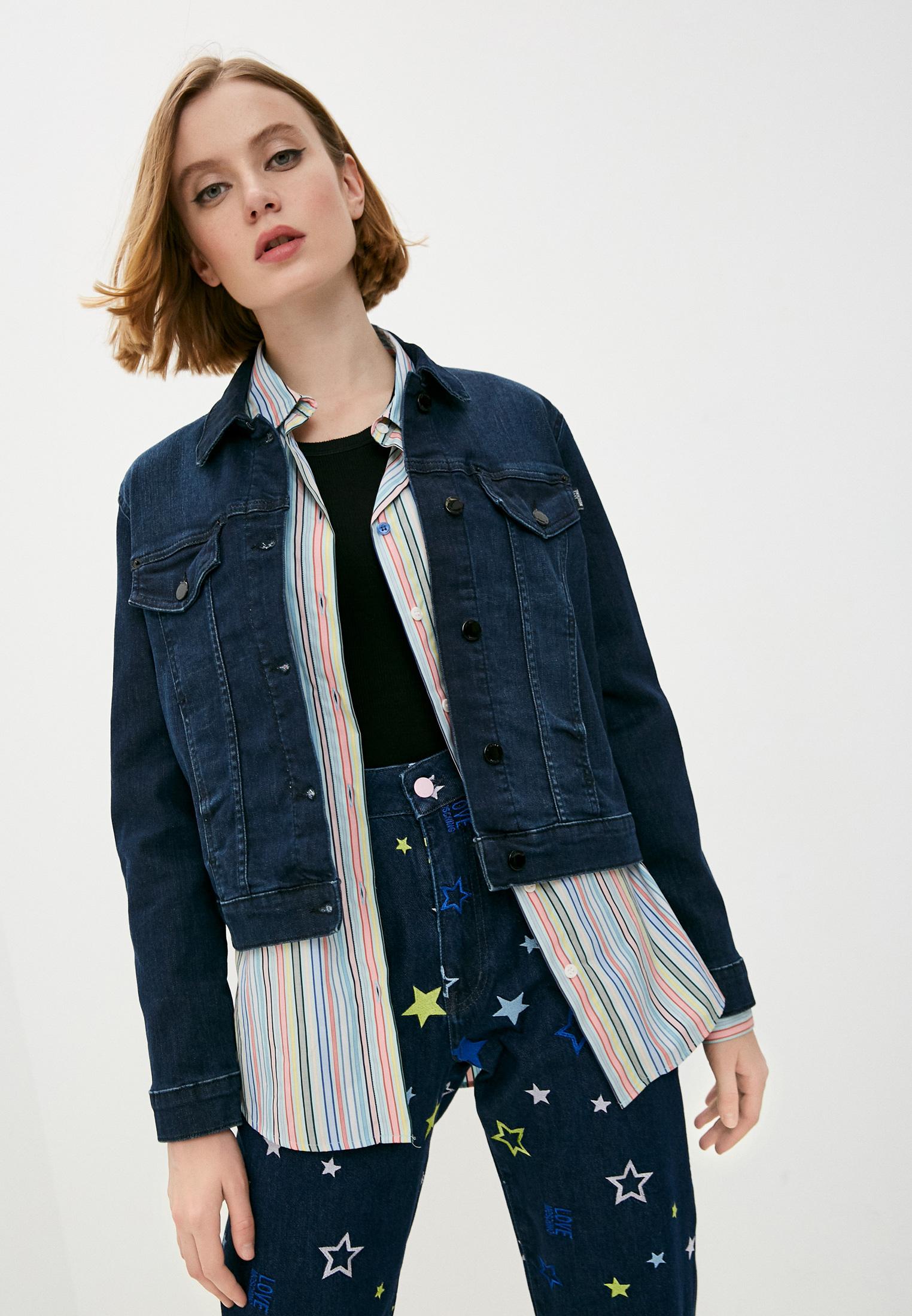 Джинсовая куртка Love Moschino WH60909S3386202C