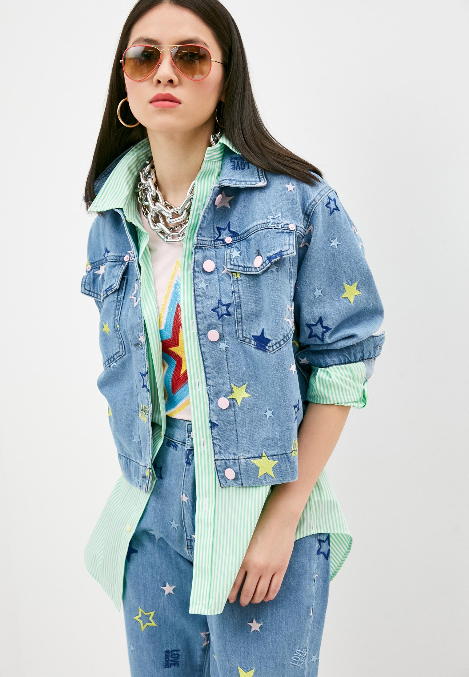 Джинсовая куртка Love Moschino WH73270T9942205C