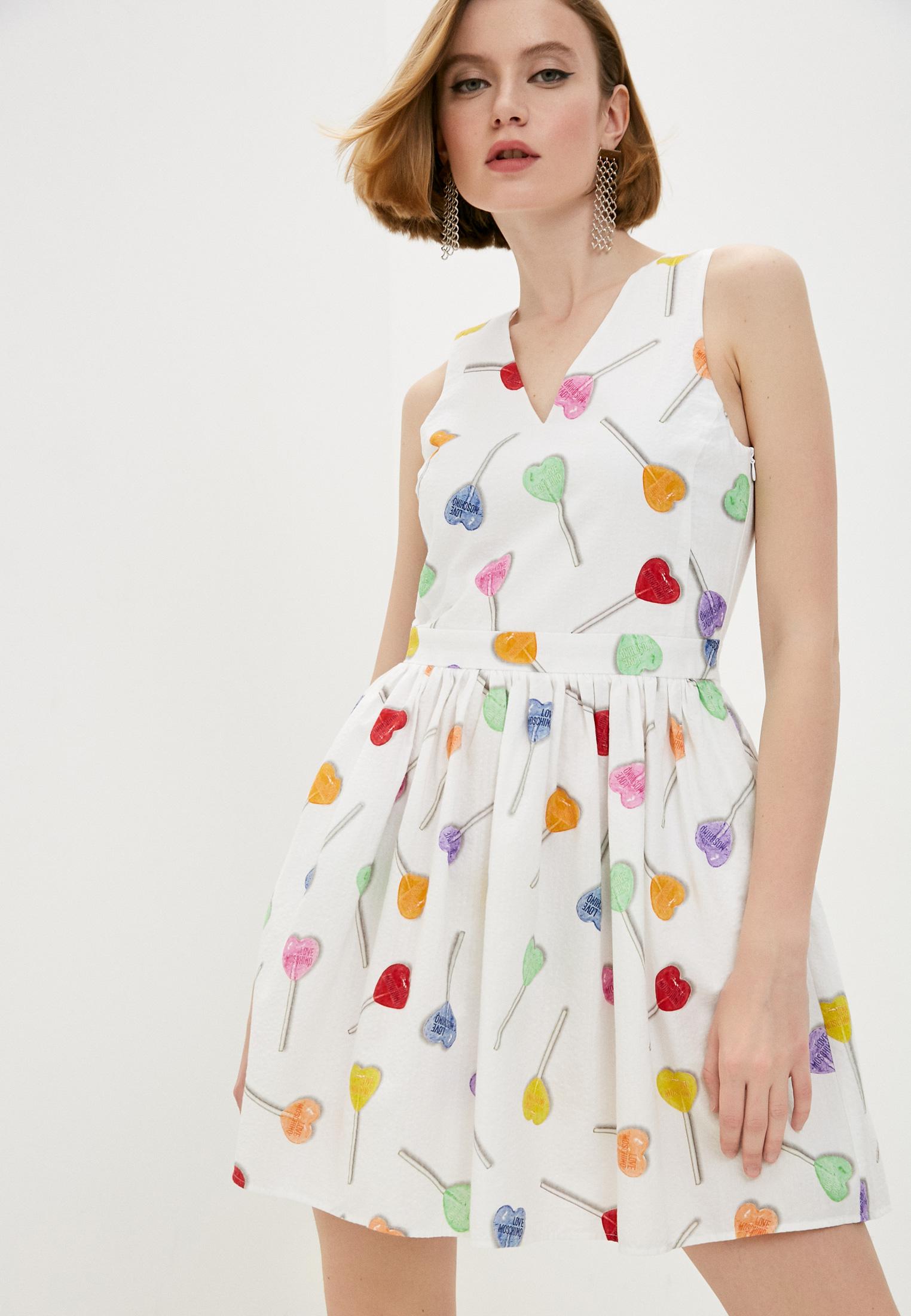 Повседневное платье Love Moschino WVI0000T99830018