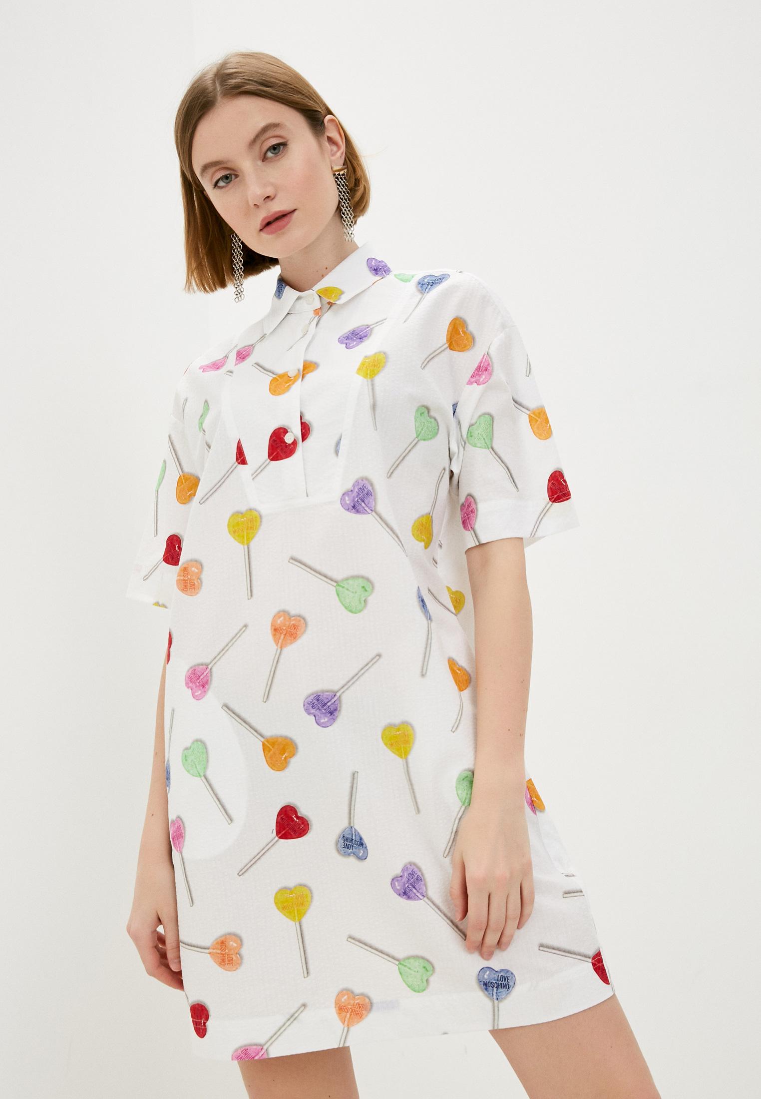 Повседневное платье Love Moschino WVI0100T99830018