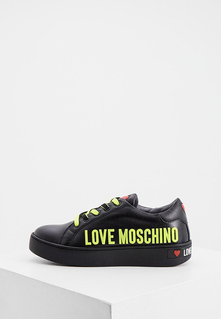 Женские кеды Love Moschino JA15113G1CIAF