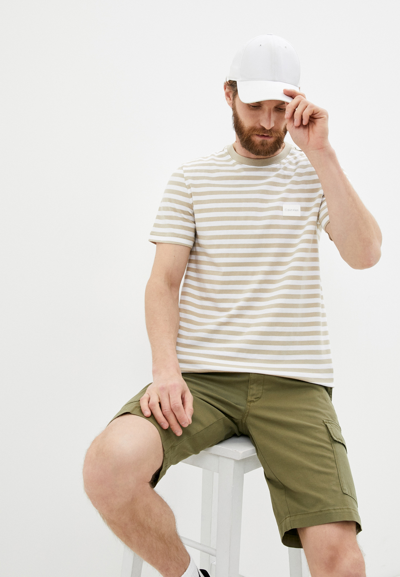 Мужская футболка Calvin Klein (Кельвин Кляйн) K10K107288