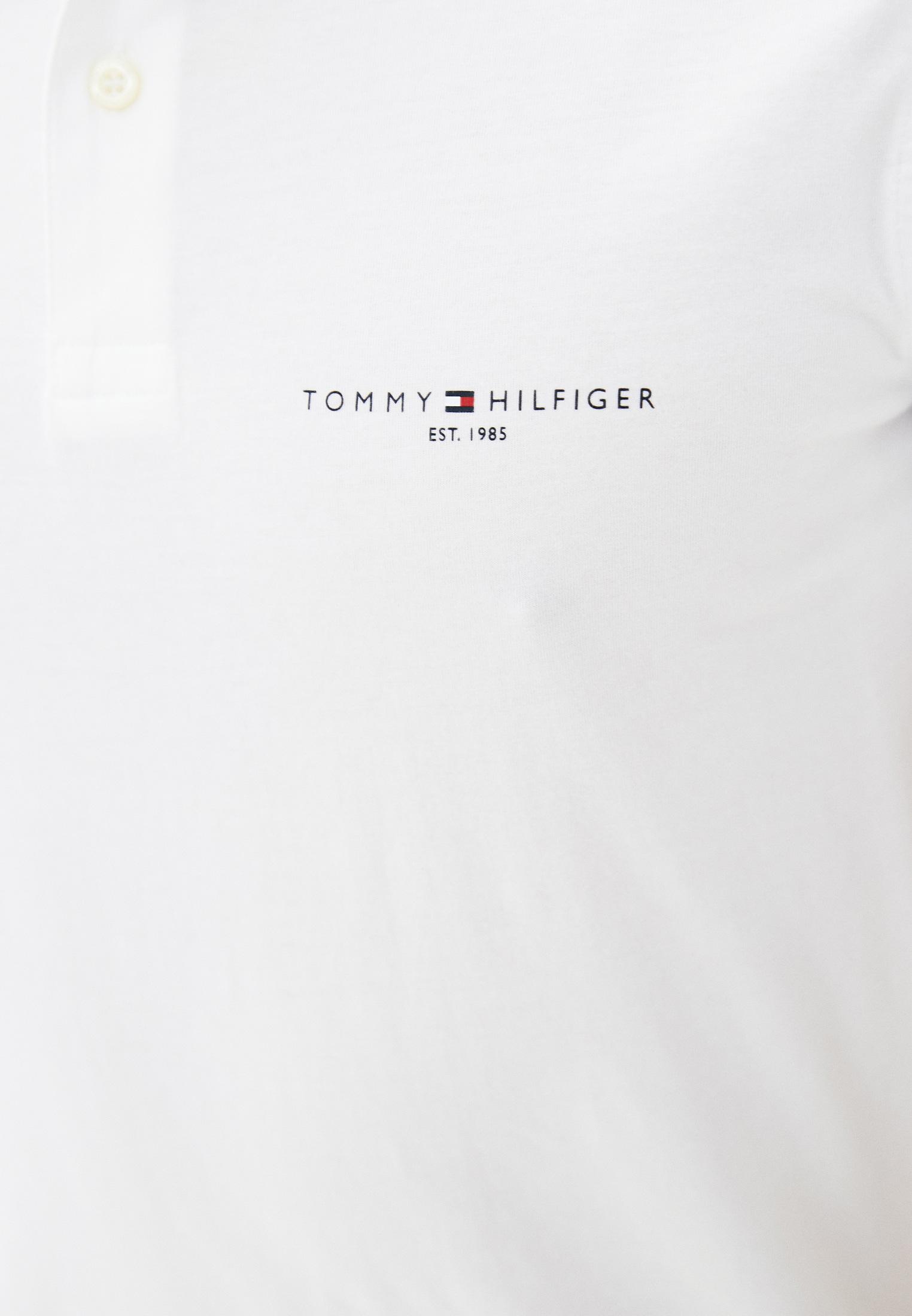 Мужские поло Tommy Hilfiger (Томми Хилфигер) MW0MW18282: изображение 3