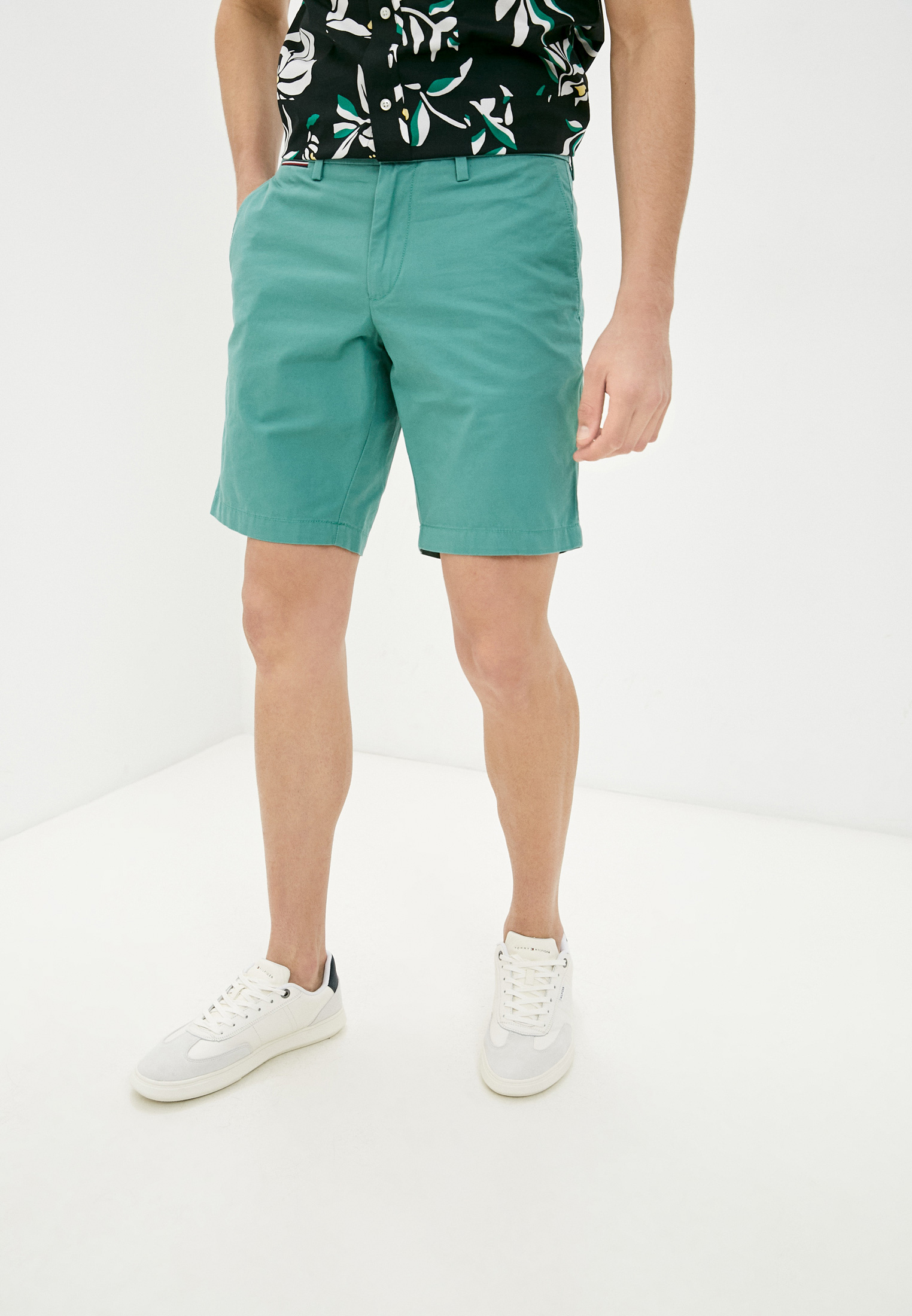 Мужские повседневные шорты Tommy Hilfiger (Томми Хилфигер) MW0MW13536
