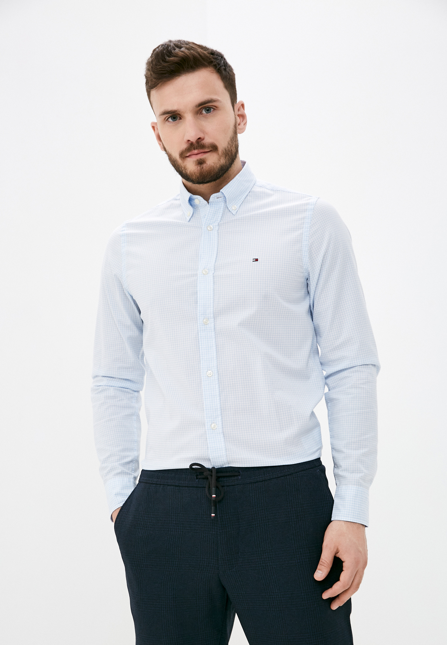 Рубашка с длинным рукавом Tommy Hilfiger (Томми Хилфигер) MW0MW18340