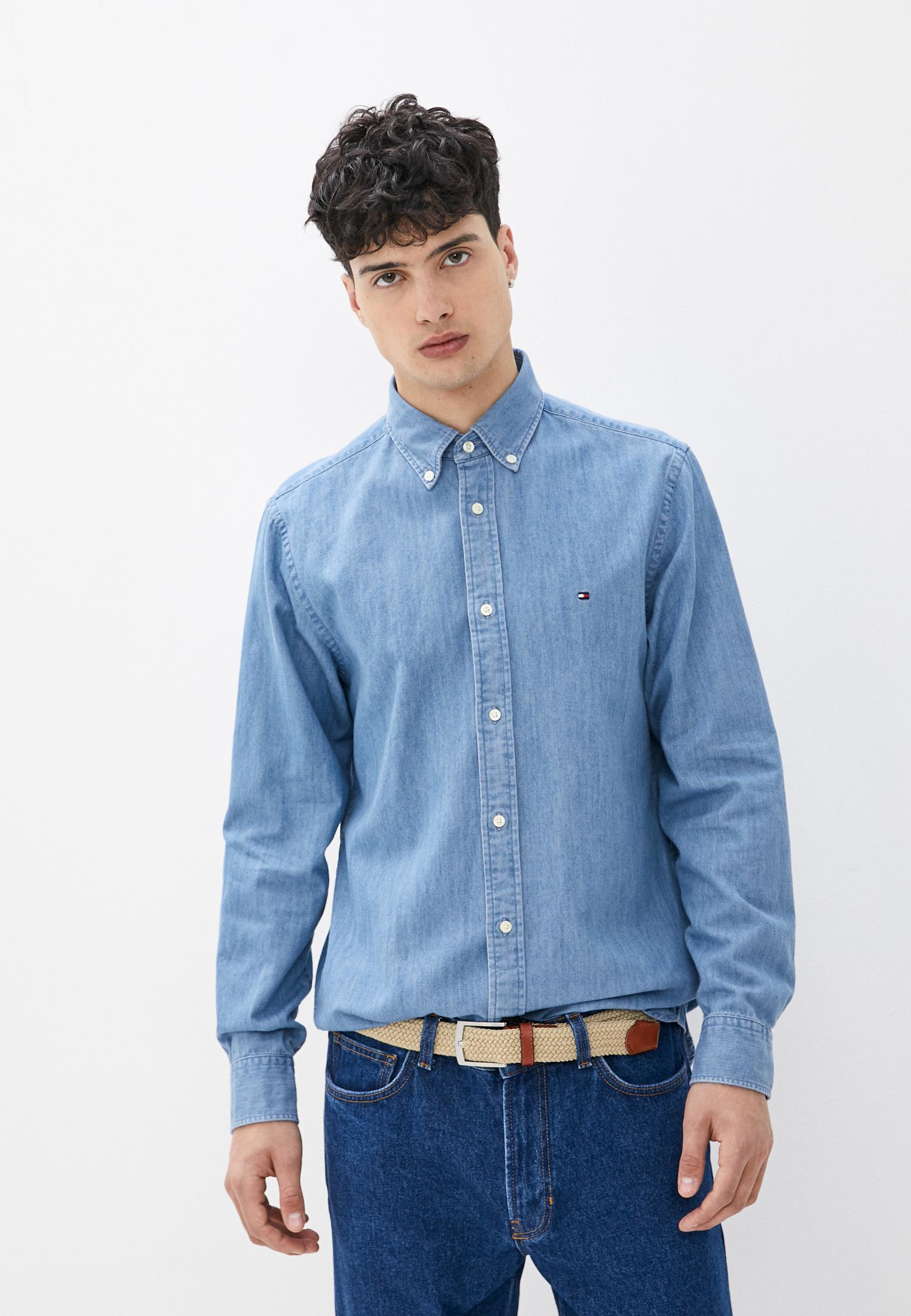 Рубашка Tommy Hilfiger (Томми Хилфигер) Рубашка джинсовая Tommy Hilfiger