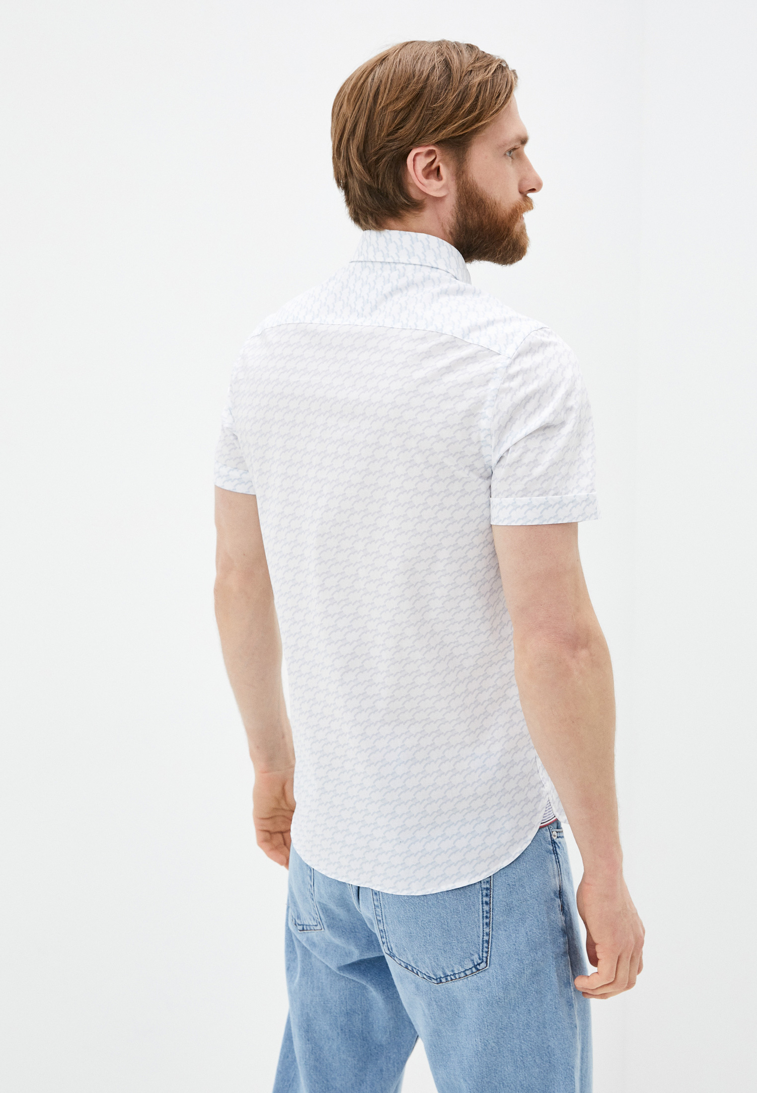 Рубашка с длинным рукавом Tommy Hilfiger (Томми Хилфигер) MW0MW17602: изображение 3