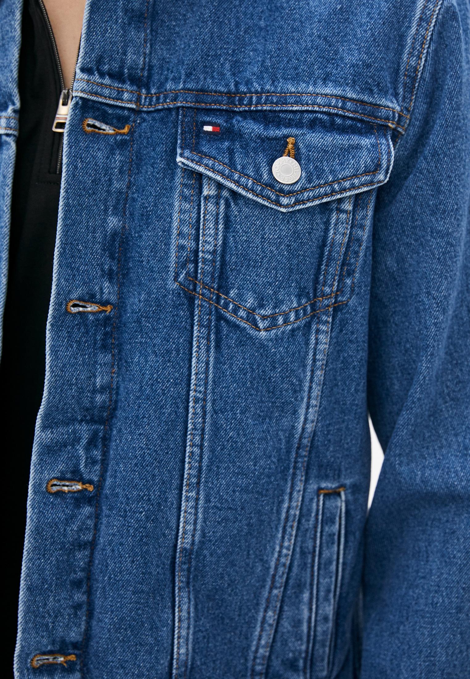 Джинсовая куртка Tommy Hilfiger (Томми Хилфигер) MW0MW18350: изображение 4