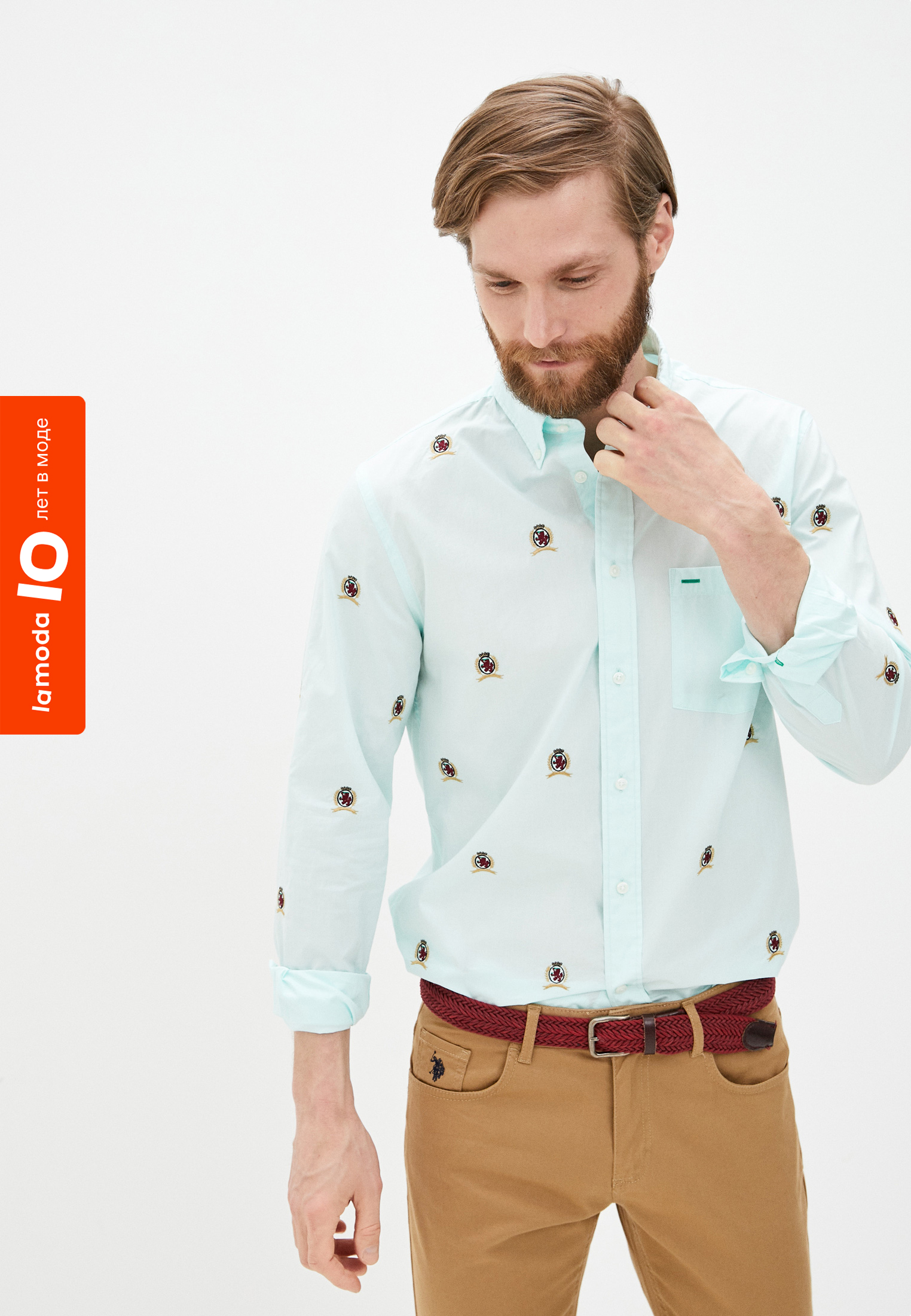 Рубашка с длинным рукавом Tommy Hilfiger (Томми Хилфигер) MW0MW18509: изображение 2