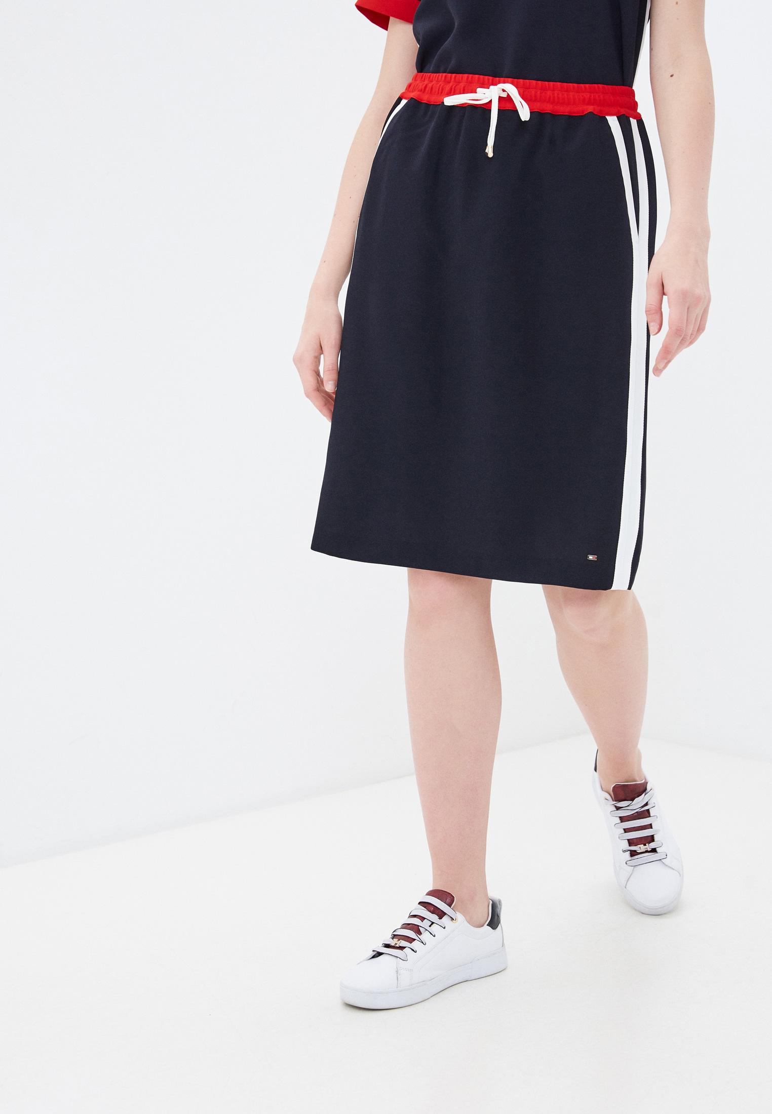 Прямая юбка Tommy Hilfiger (Томми Хилфигер) WW0WW30635