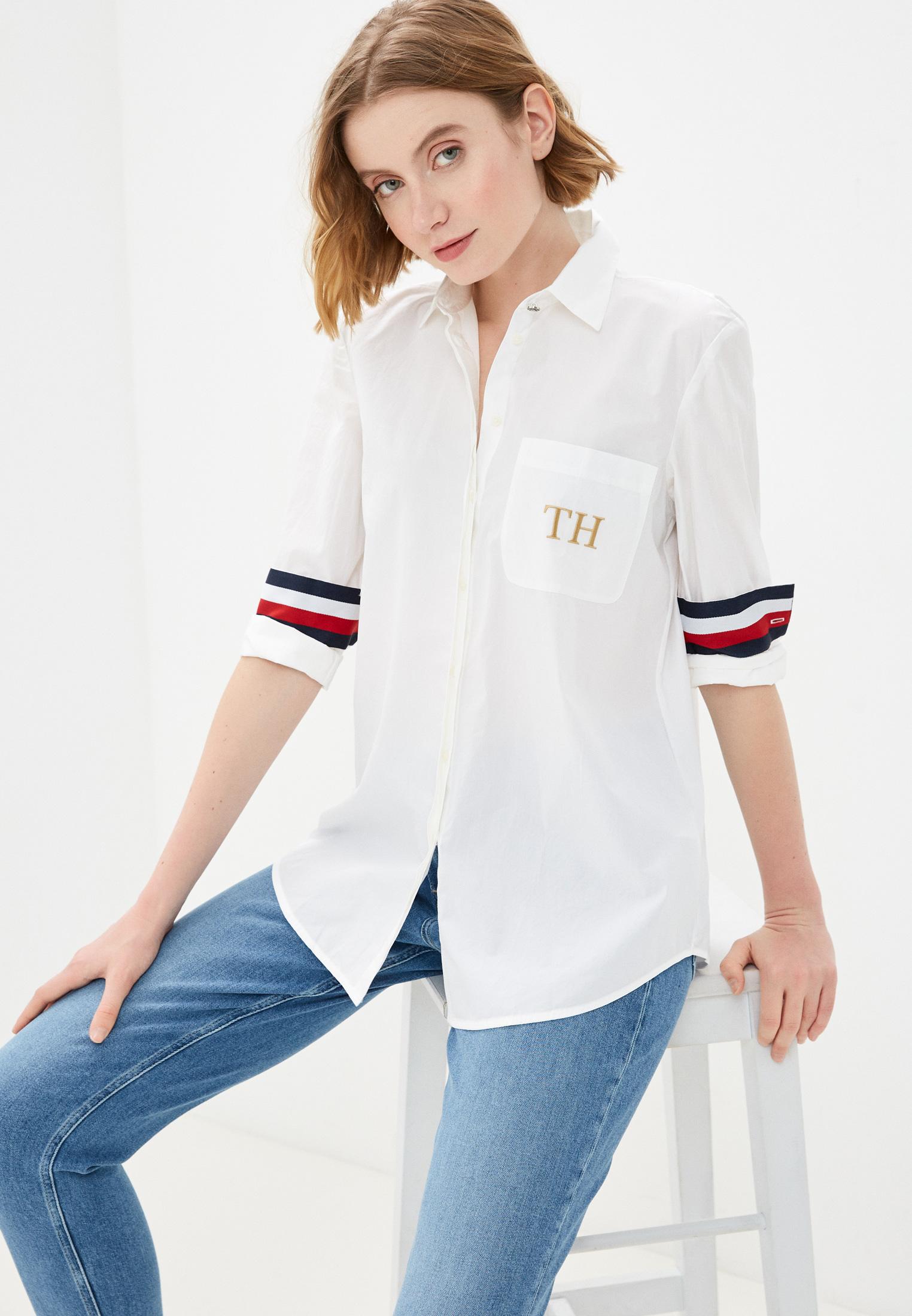 Женские рубашки с длинным рукавом Tommy Hilfiger (Томми Хилфигер) WW0WW30708