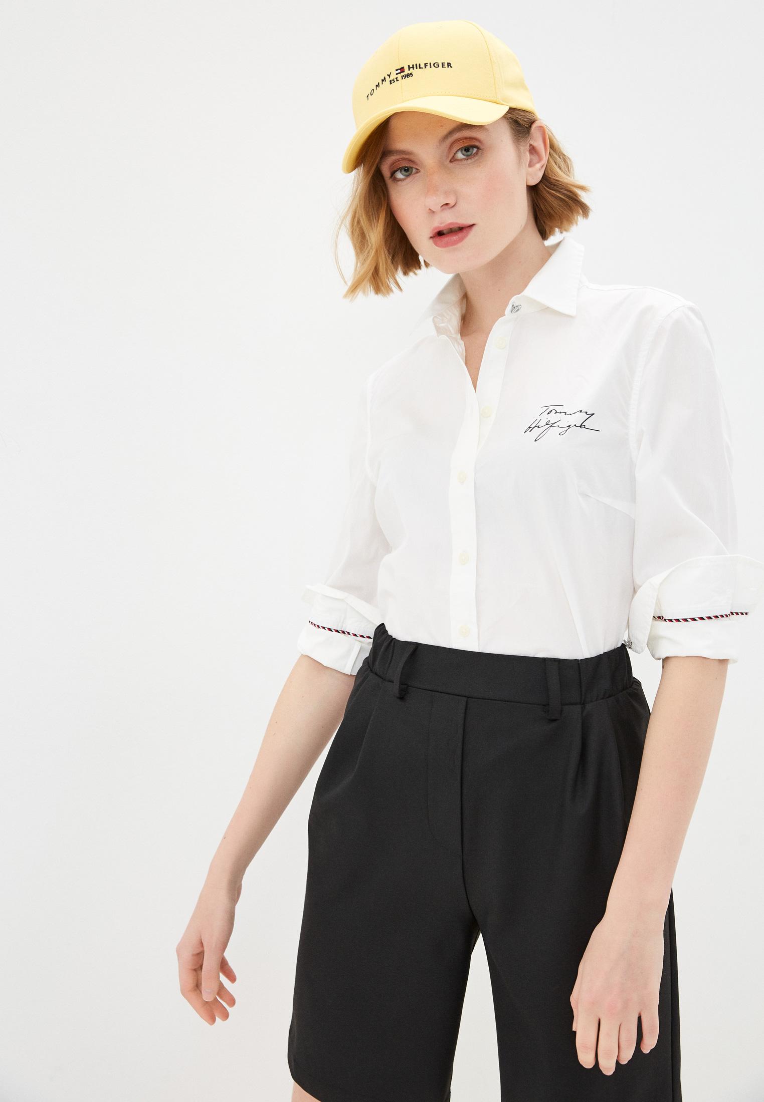 Женские рубашки с длинным рукавом Tommy Hilfiger (Томми Хилфигер) WW0WW30711: изображение 1