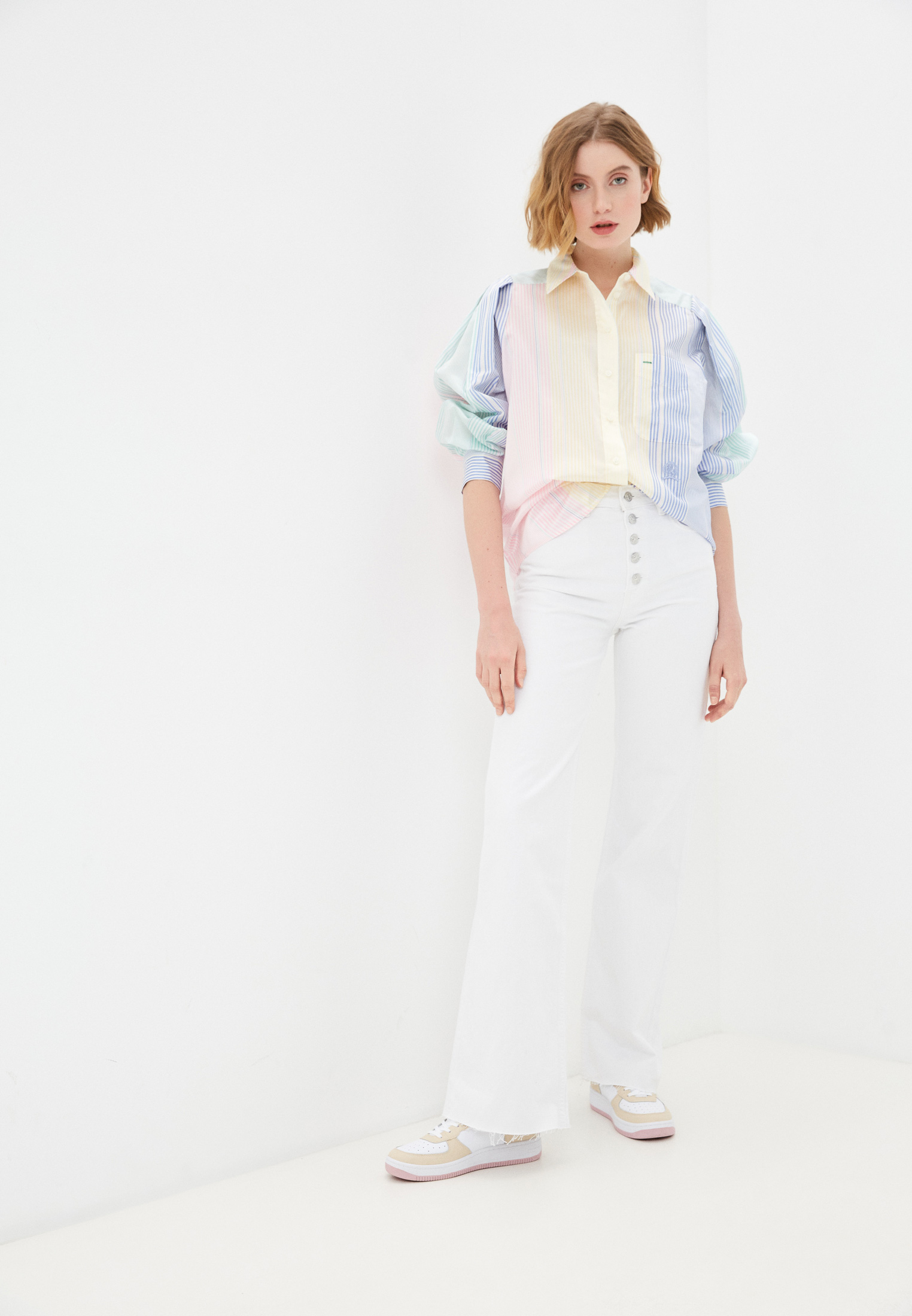 Блуза Tommy Hilfiger (Томми Хилфигер) WW0WW30936: изображение 3