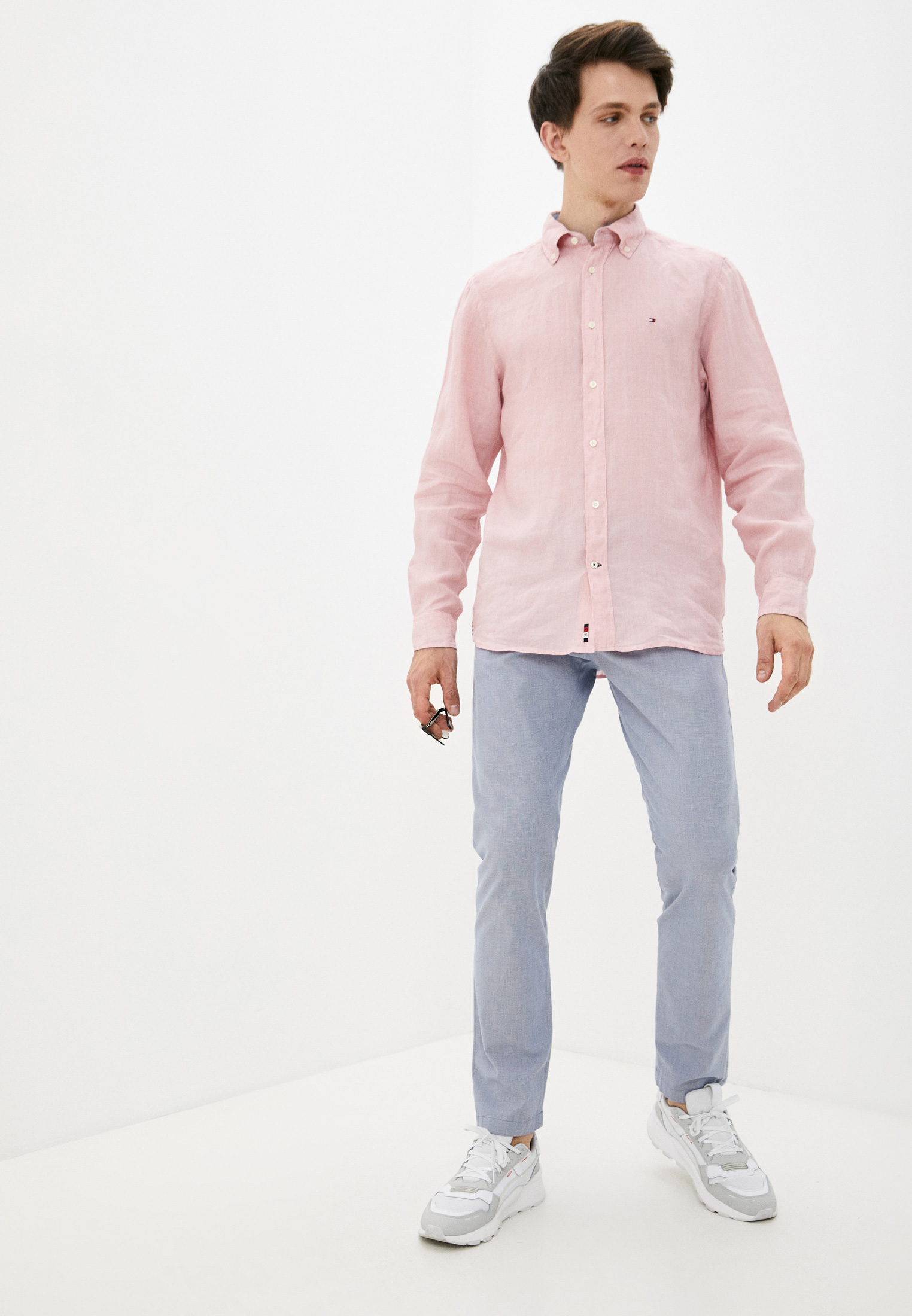Рубашка с длинным рукавом Tommy Hilfiger (Томми Хилфигер) MW0MW17646: изображение 2