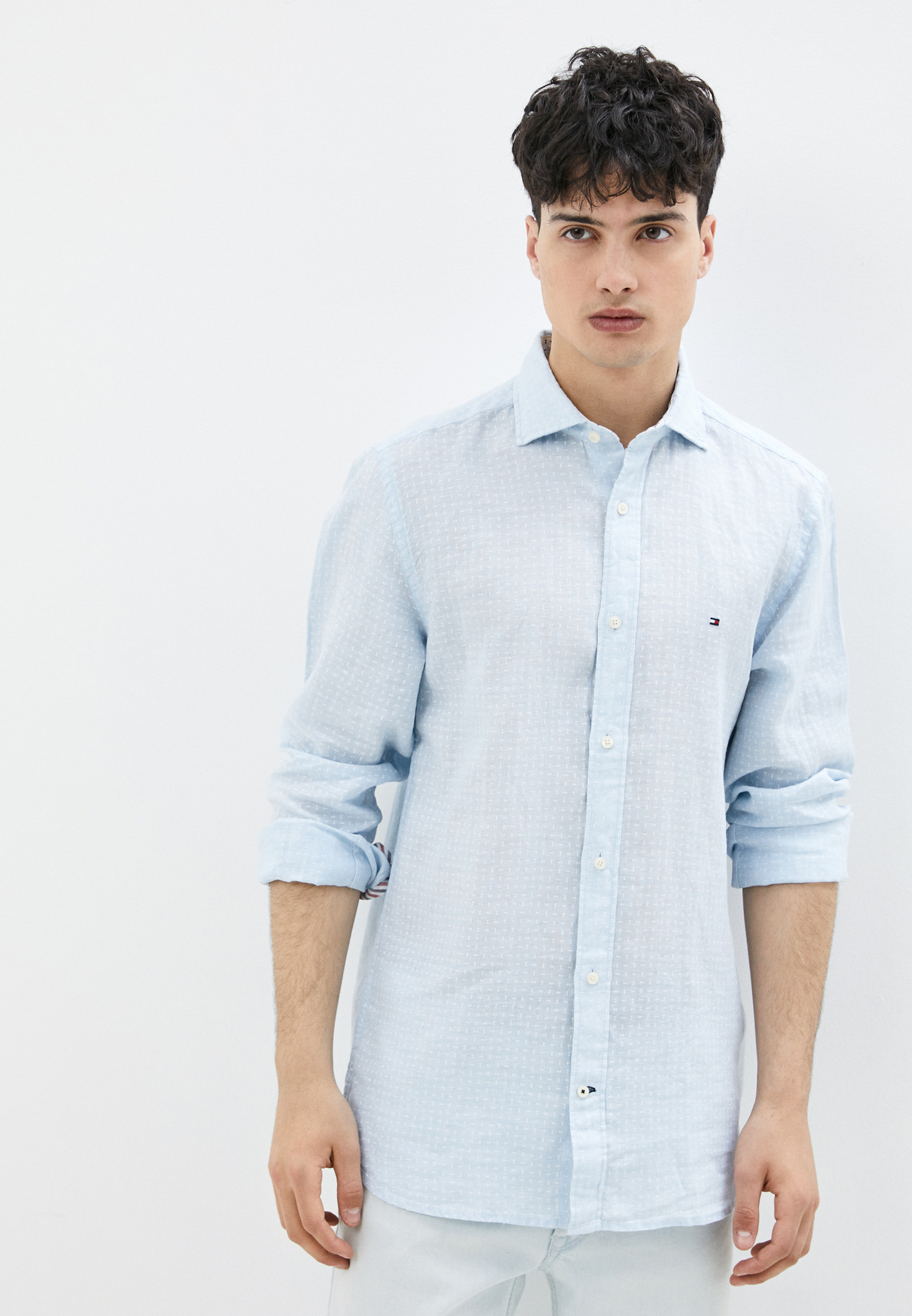 Рубашка с длинным рукавом Tommy Hilfiger (Томми Хилфигер) MW0MW17648