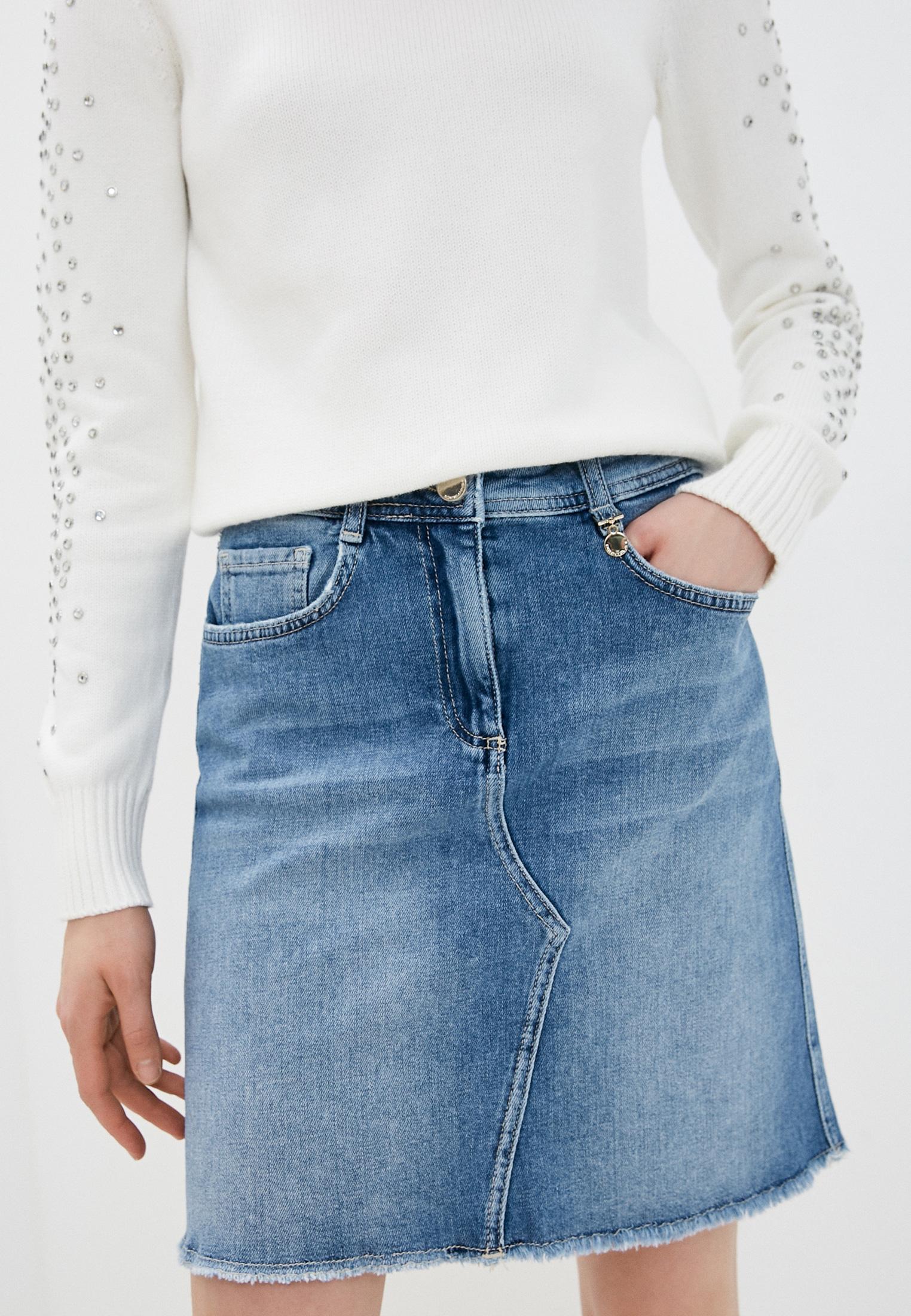 Джинсовая юбка Pennyblack (Пенни Блэк) Юбка джинсовая Pennyblack