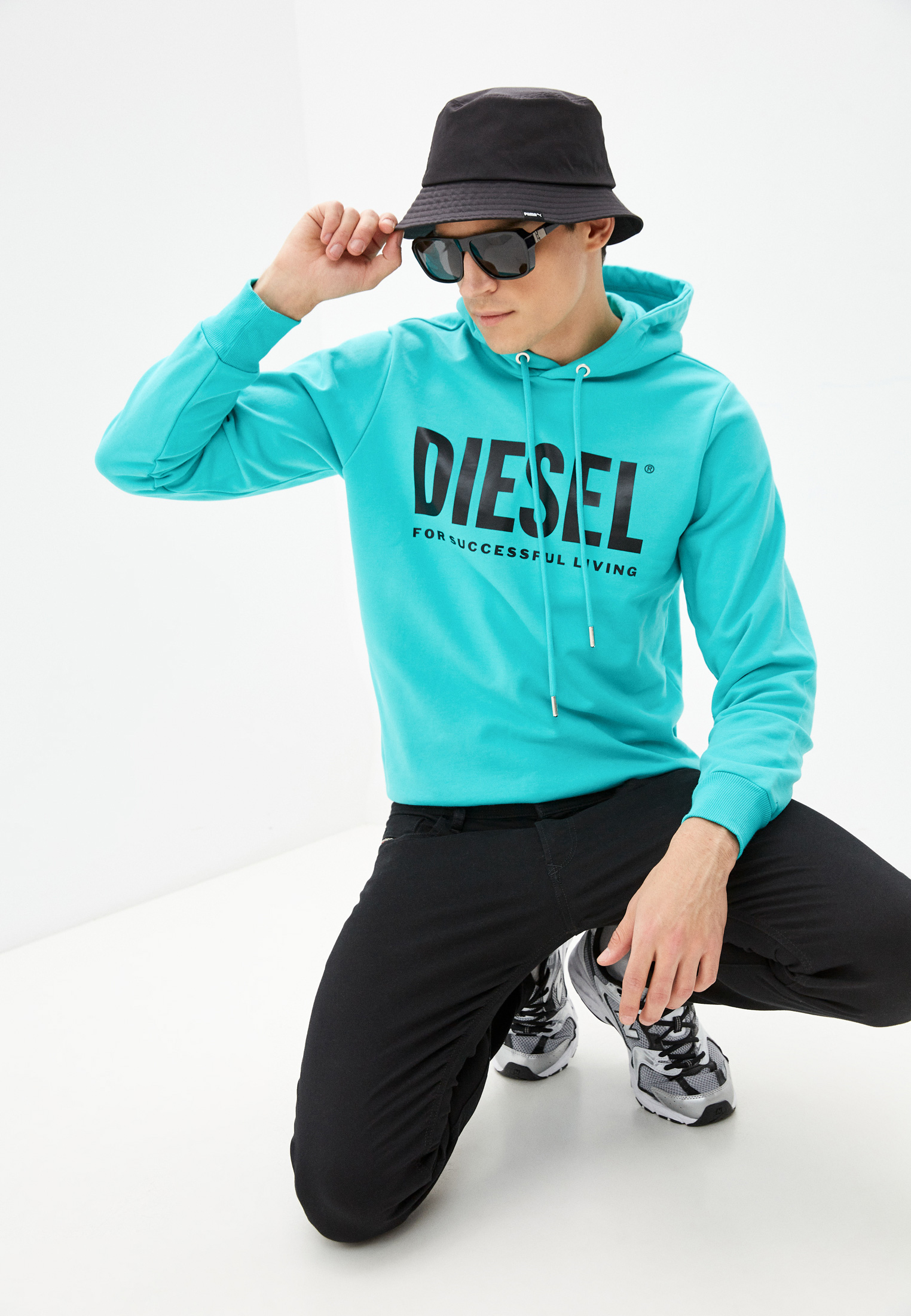 Мужские худи Diesel (Дизель) 00SAQJ0BAWT