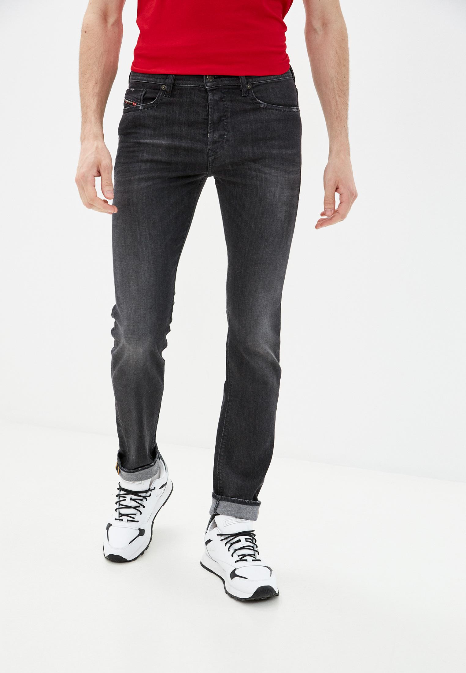 Мужские зауженные джинсы Diesel (Дизель) 00SDHB082AS