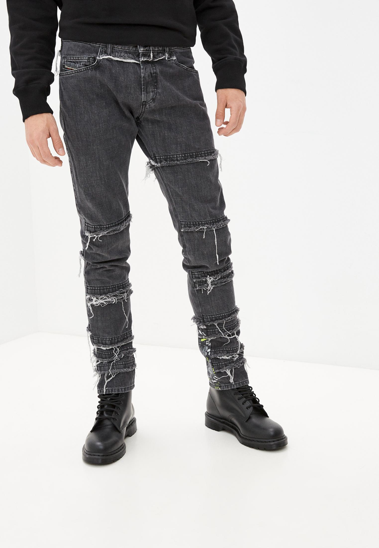 Мужские зауженные джинсы Diesel (Дизель) 00SI8V009CD