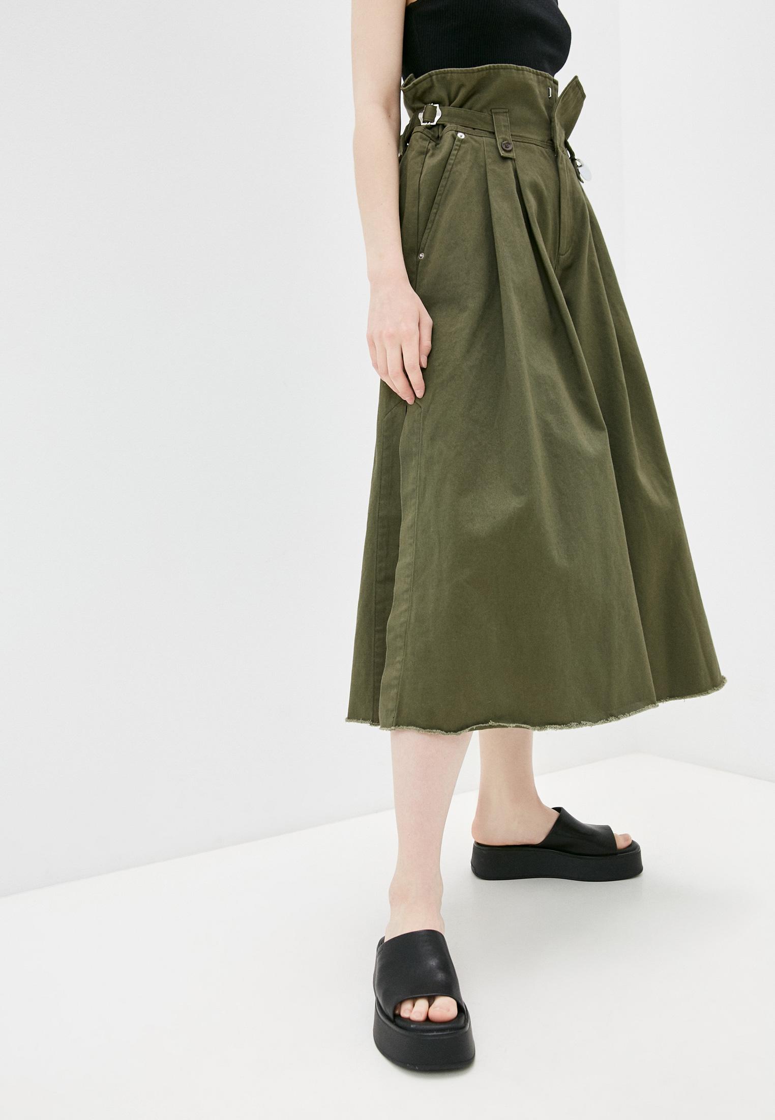 Женские широкие и расклешенные брюки Diesel (Дизель) Брюки Diesel