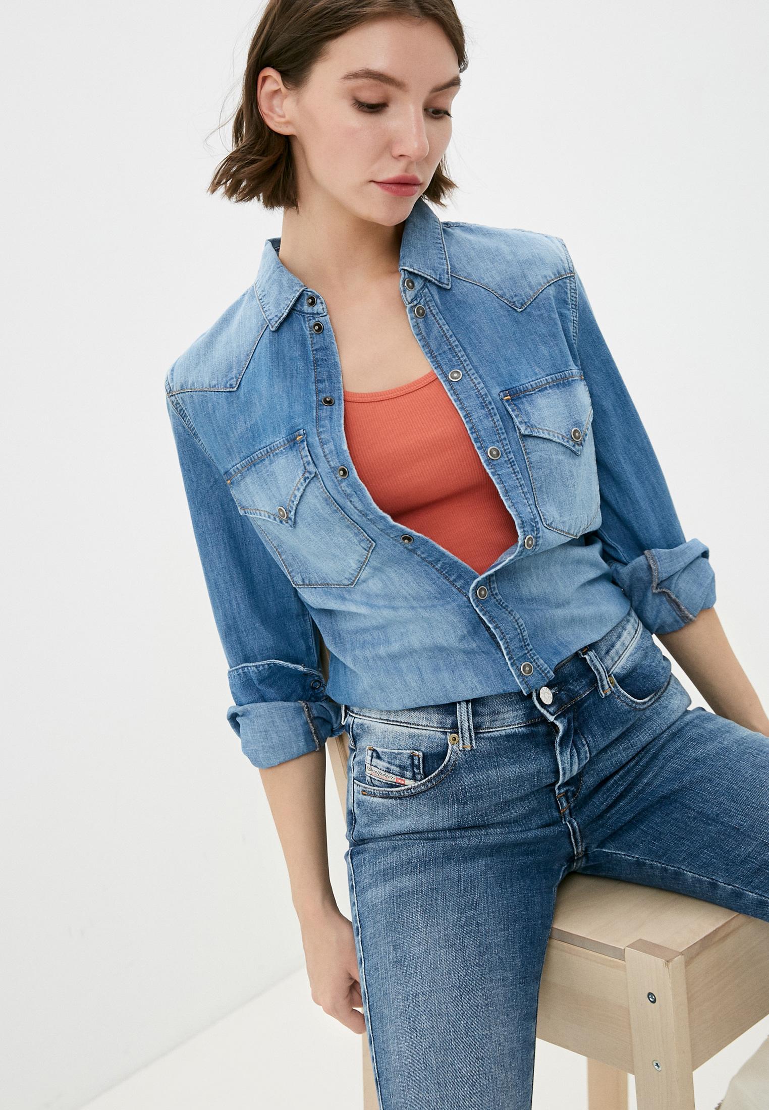 Женские джинсовые рубашки Diesel (Дизель) 00SQC20LASO