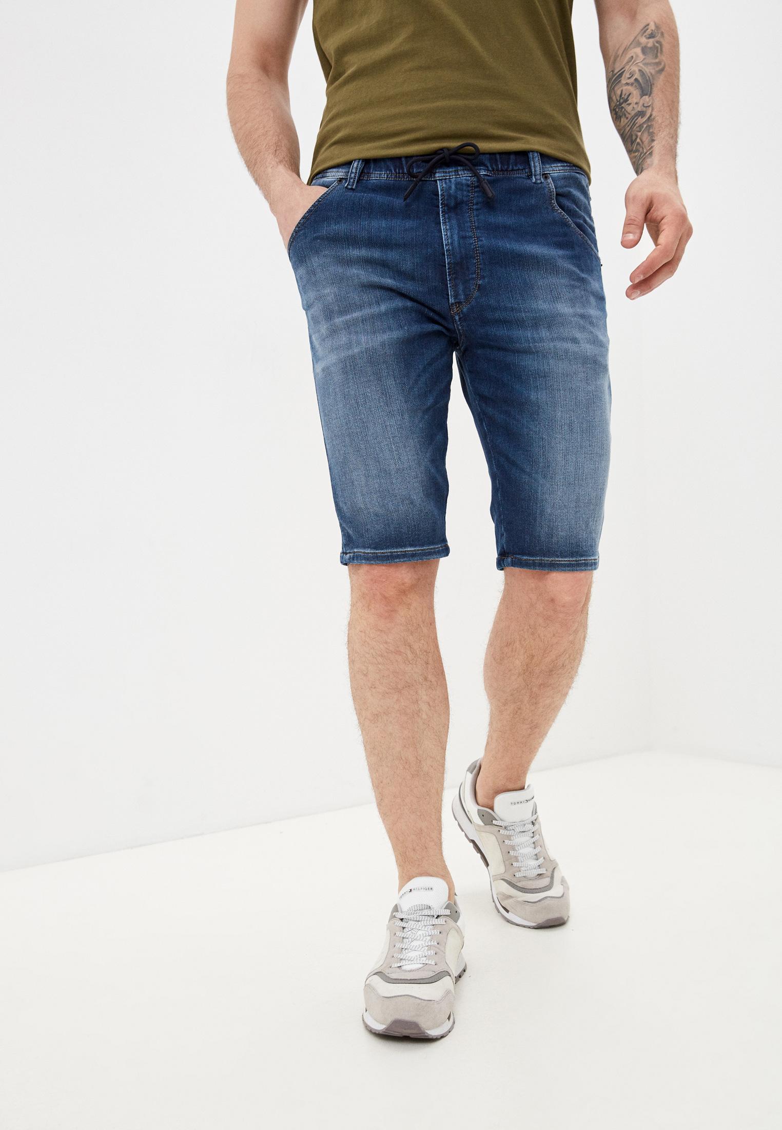 Мужские джинсовые шорты Diesel (Дизель) 00SSLM0095N