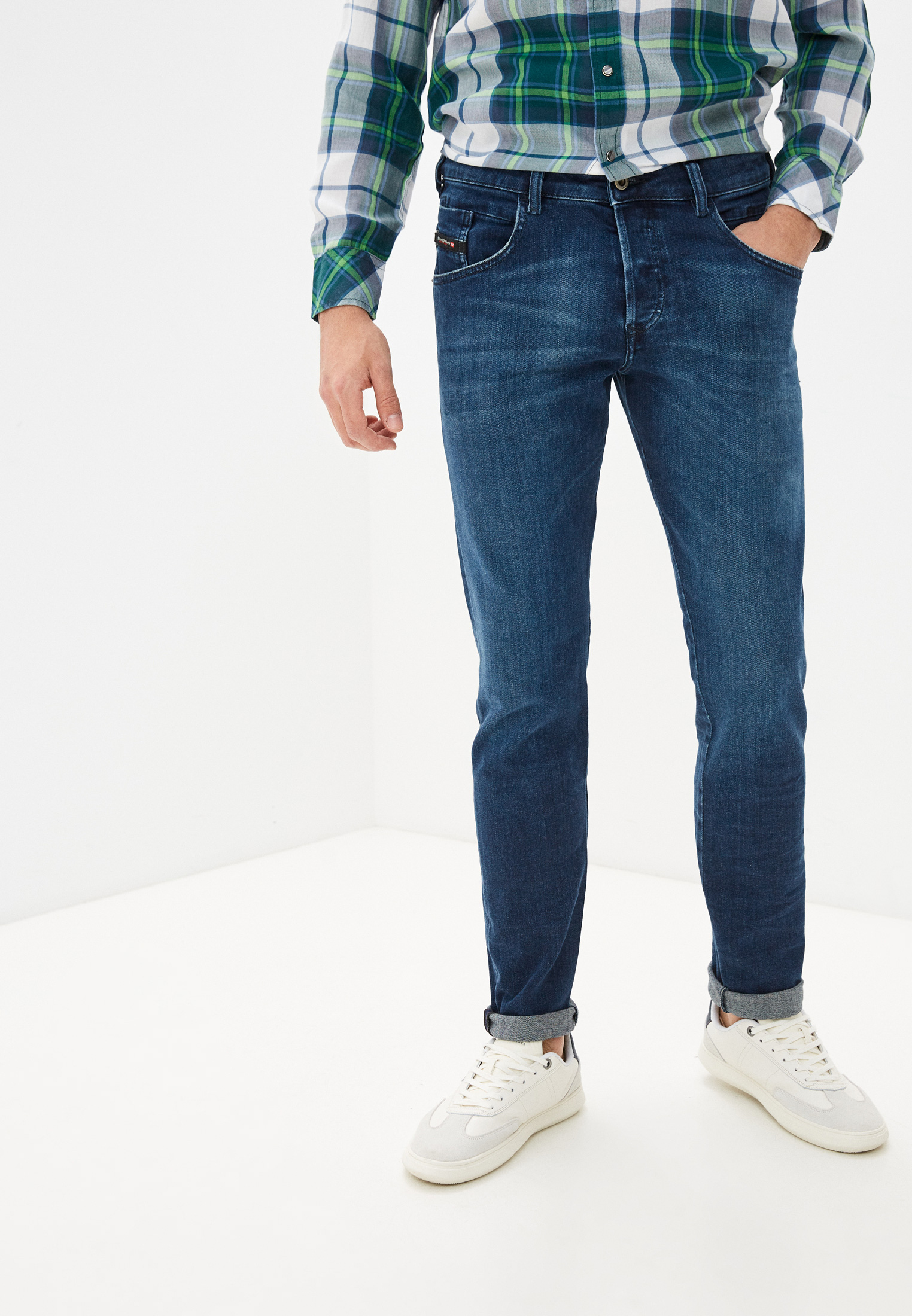 Мужские зауженные джинсы Diesel (Дизель) 00SSLM0095T