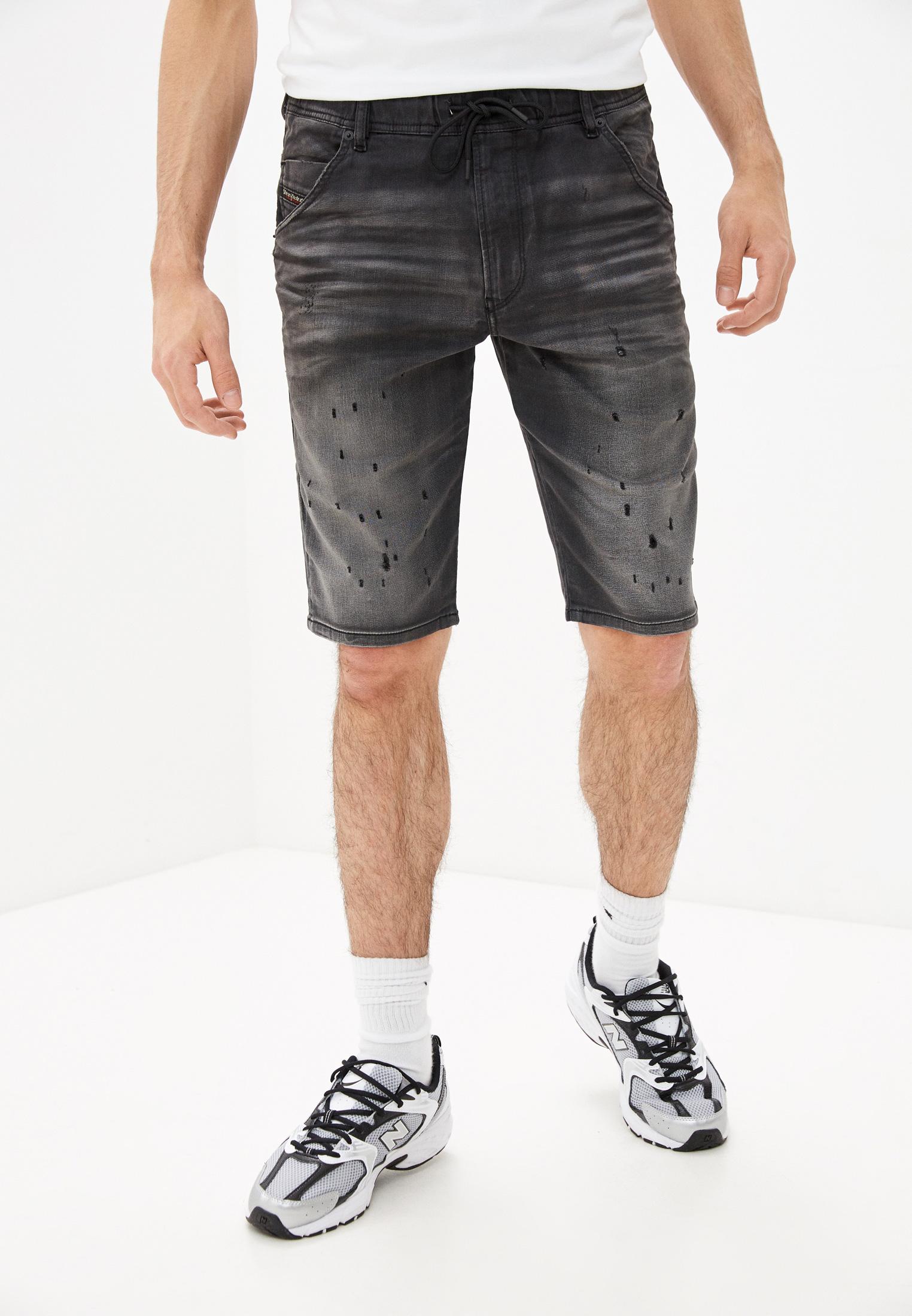 Мужские джинсовые шорты Diesel (Дизель) 00STMV069GN