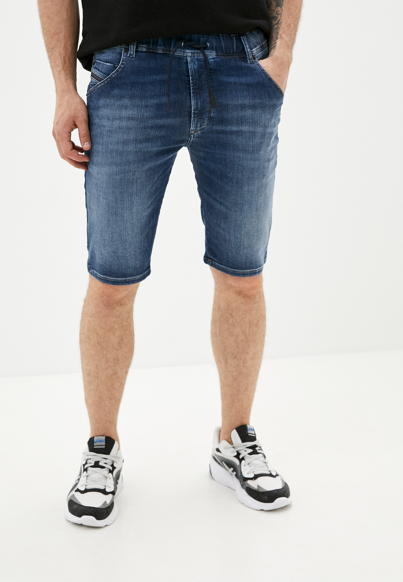 Мужские джинсовые шорты Diesel (Дизель) 00STMV088AX