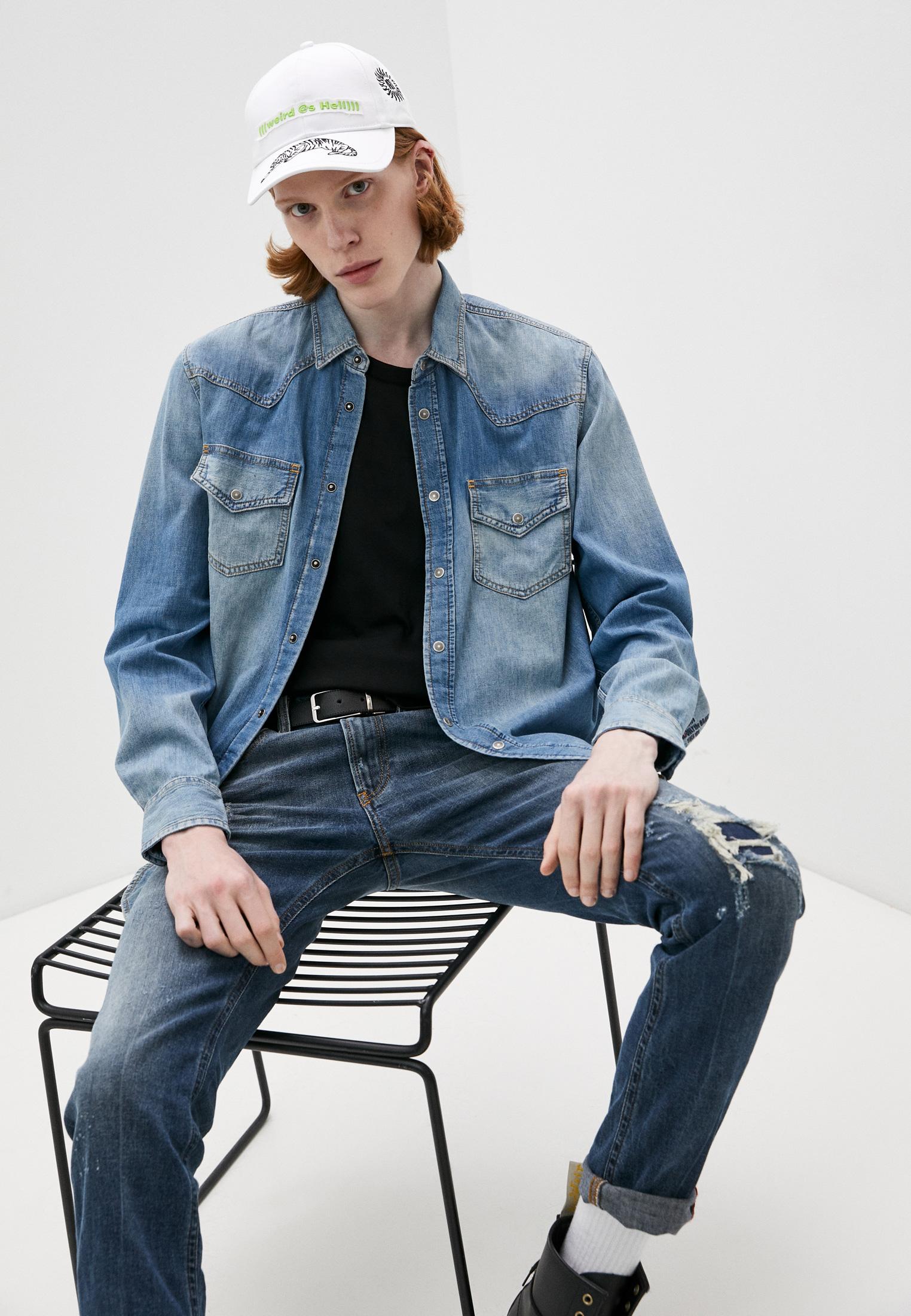 Рубашка Diesel (Дизель) Рубашка джинсовая Diesel