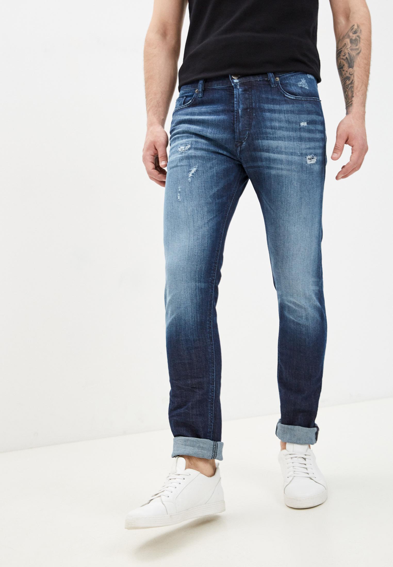 Мужские зауженные джинсы Diesel (Дизель) 00SWID0095R