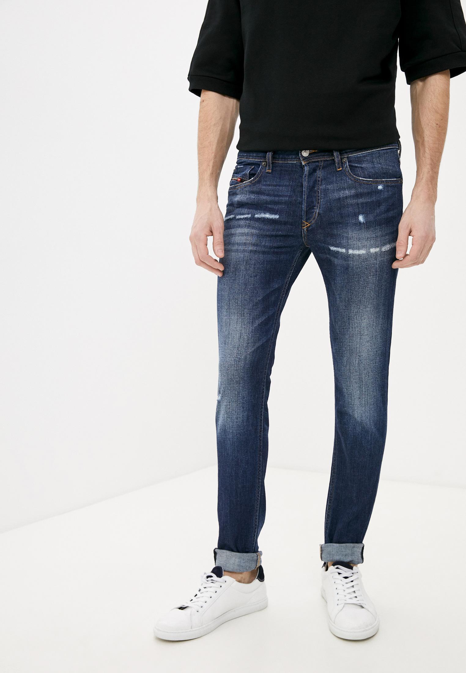 Мужские зауженные джинсы Diesel (Дизель) 00SWJF084AJ
