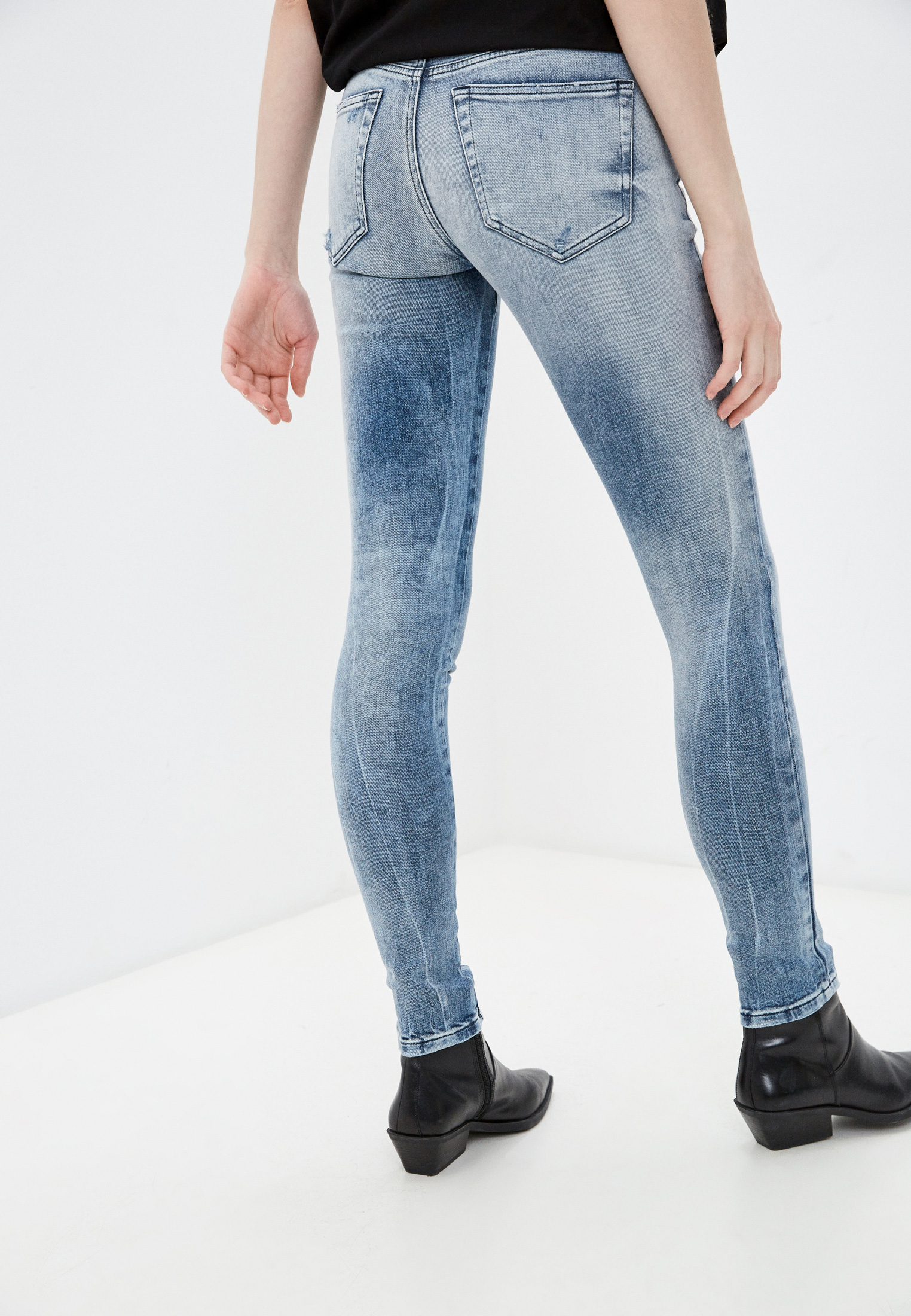 Зауженные джинсы Diesel (Дизель) 00SXJN083AR: изображение 3