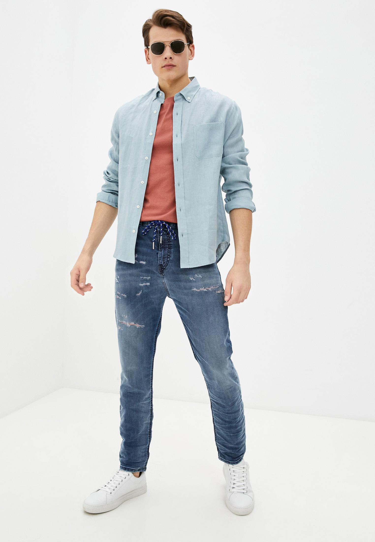 Мужские прямые джинсы Diesel (Дизель) 00SY8W069LW: изображение 2