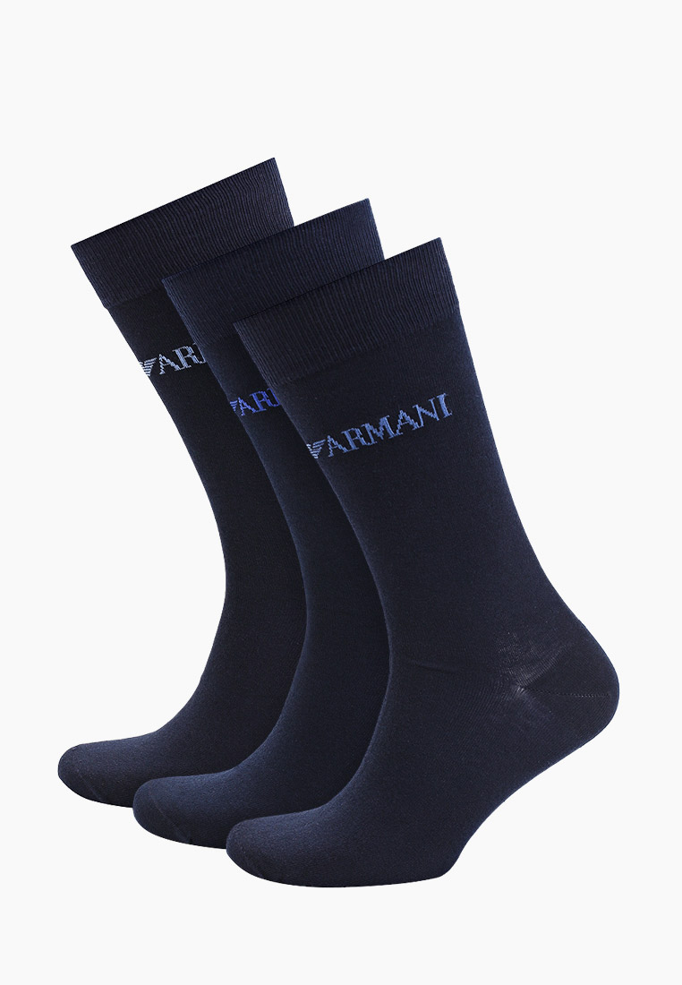 Мужские носки Emporio Armani (Эмпорио Армани) Носки 3 пары Emporio Armani