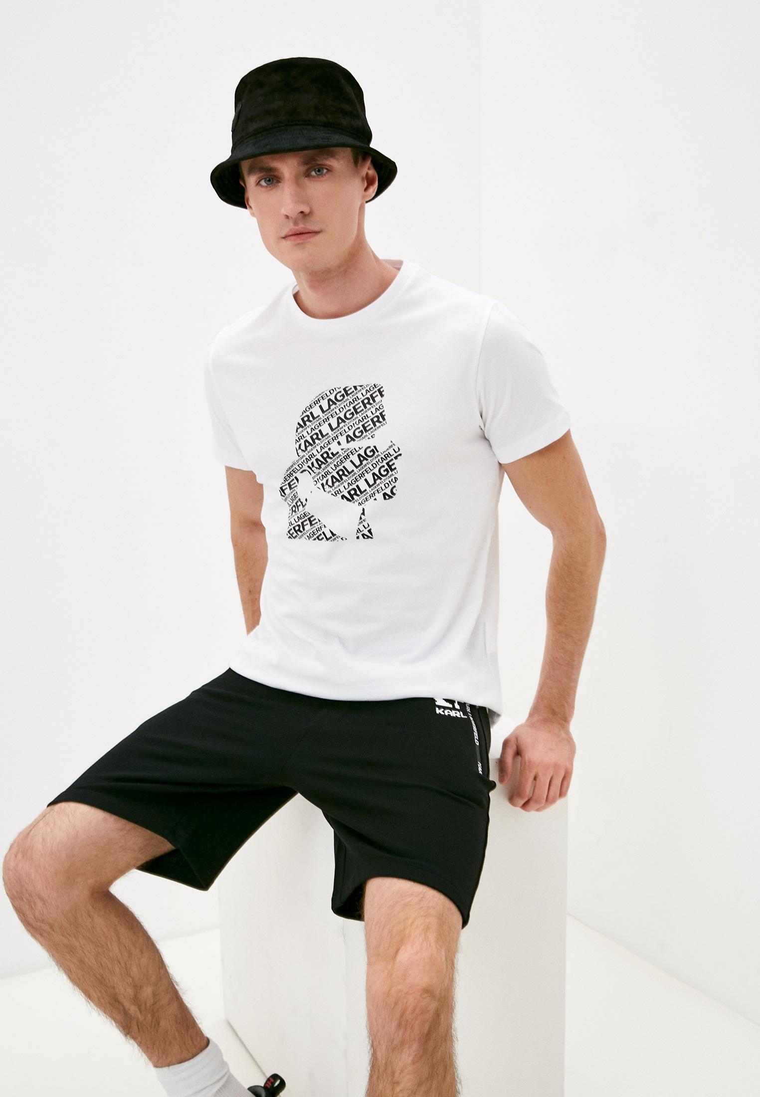 Мужская футболка Karl Lagerfeld (Карл Лагерфельд) 755057 511224