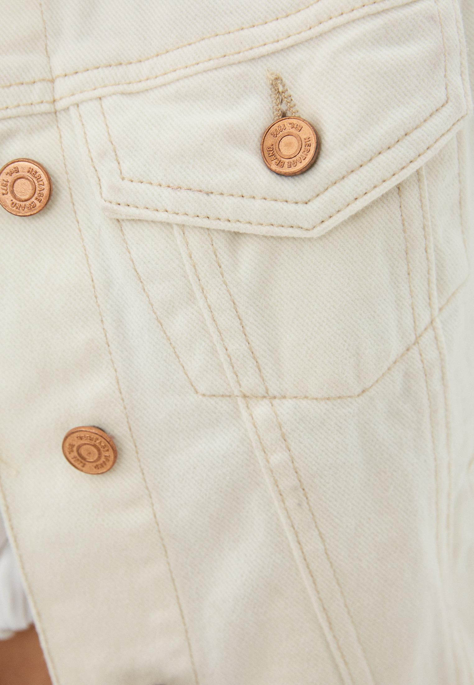 Джинсовая куртка Brave Soul LJK-BLOOMSECRU: изображение 4