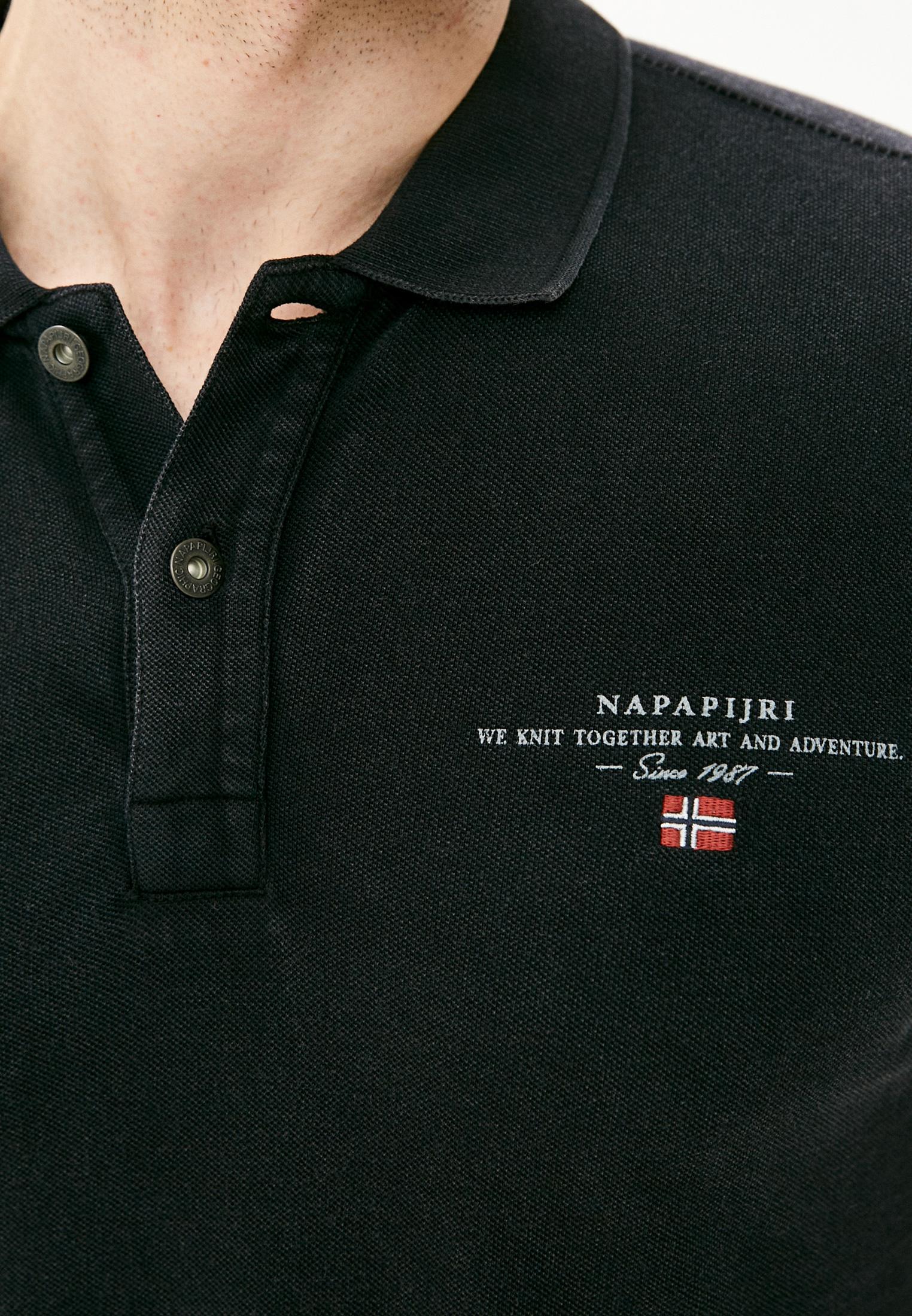 Футболка с коротким рукавом Napapijri NA4FA2041: изображение 3